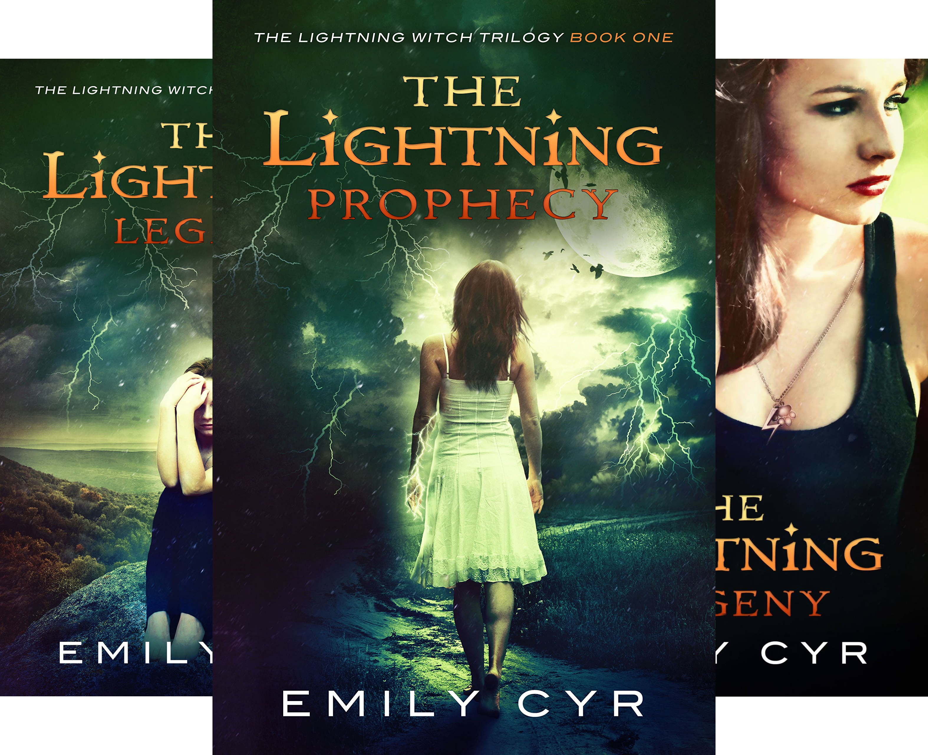 The Lightning Witch Trilogy (3 Book Series)