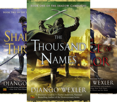 The Shadow Campaigns (Book Series) by Django Wexler