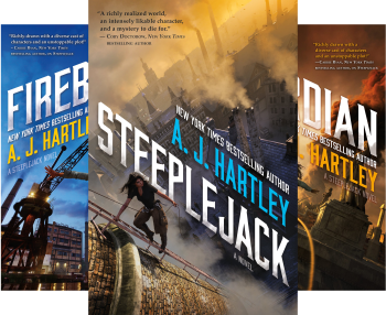 Steeplejack (Book Series) by A. J. Hartley
