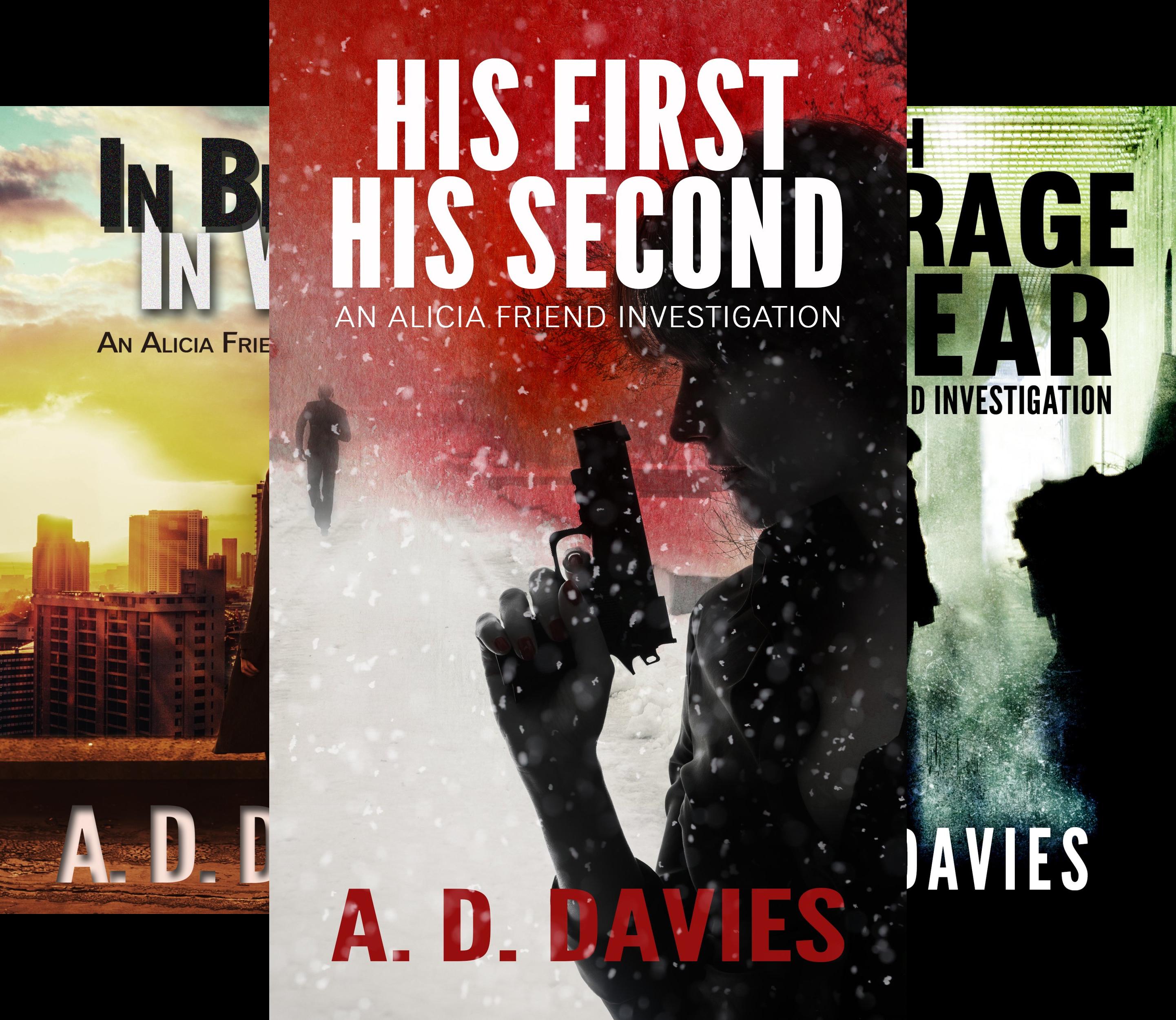 An Alicia Friend Investigation (6 Book Series)