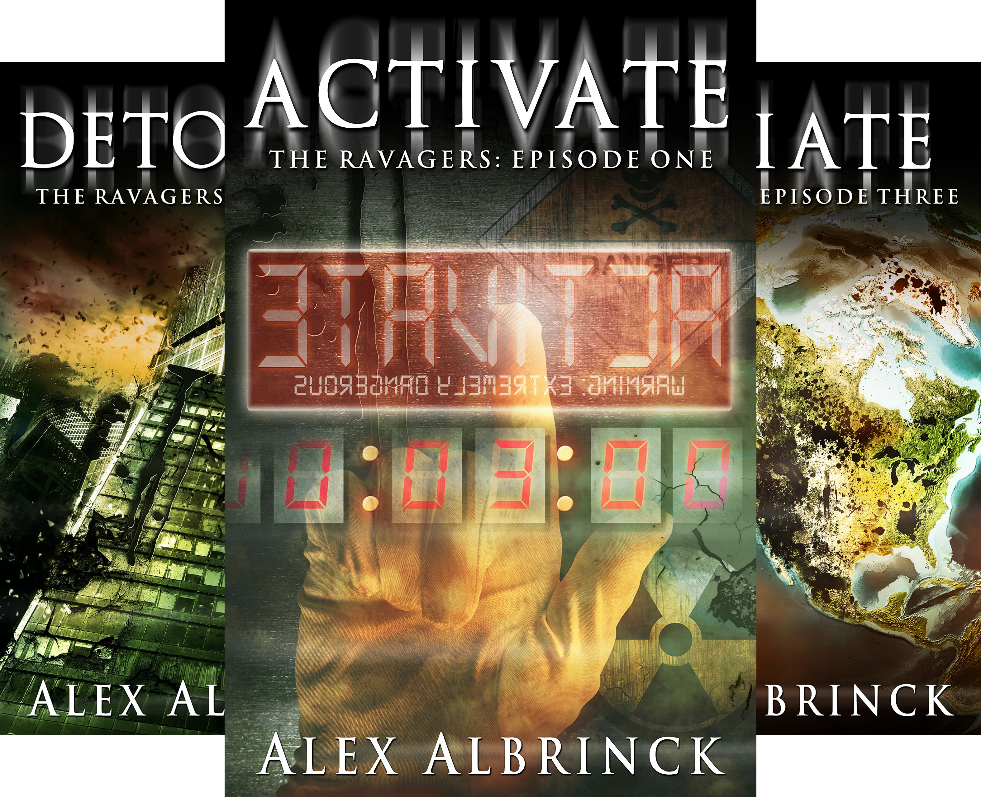 The Ravagers (4 Book Series)