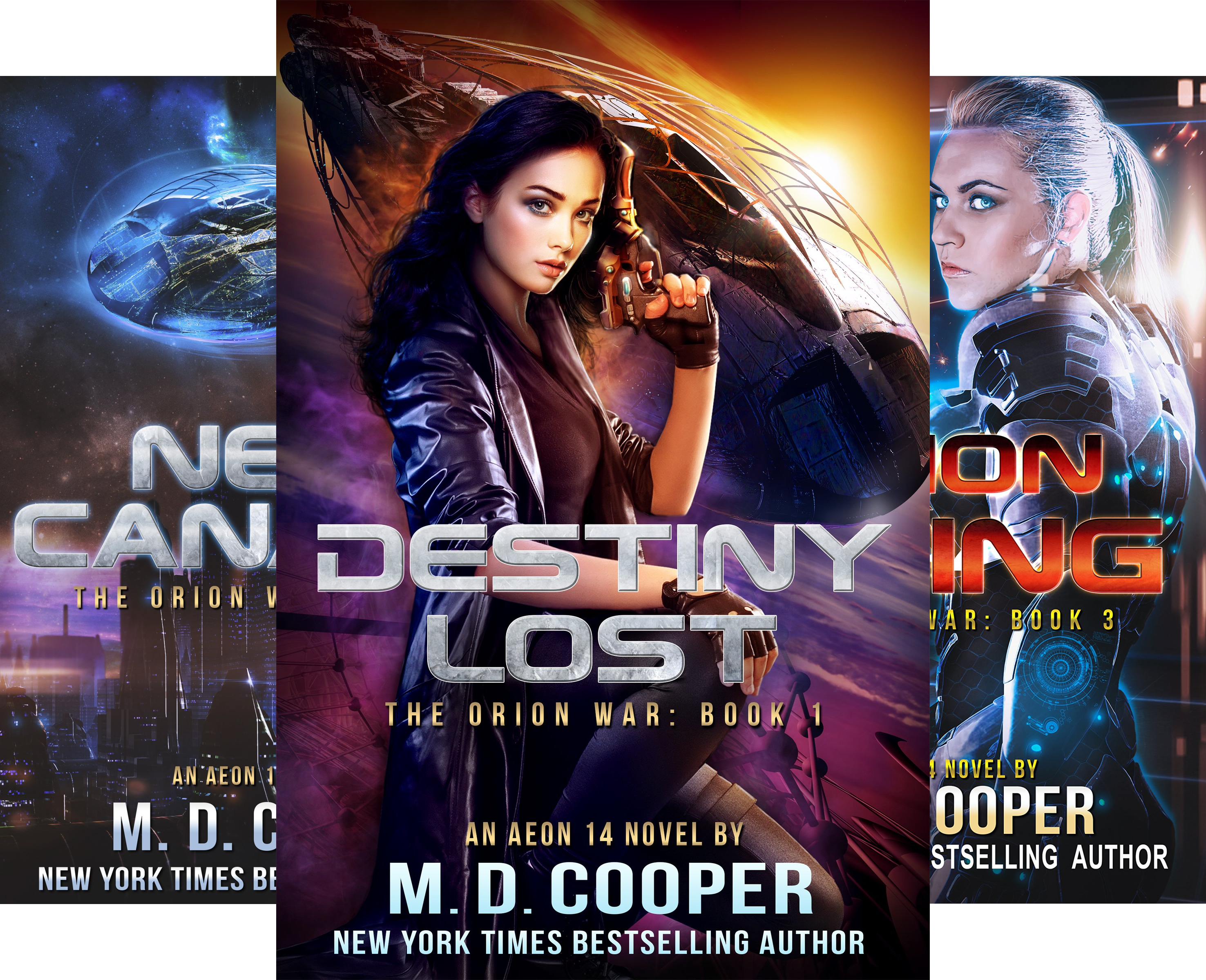 The Orion War (4 Book Series)