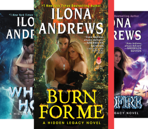 Hidden Legacy (3 Book Series) Kindle Edition by Ilona Andrews