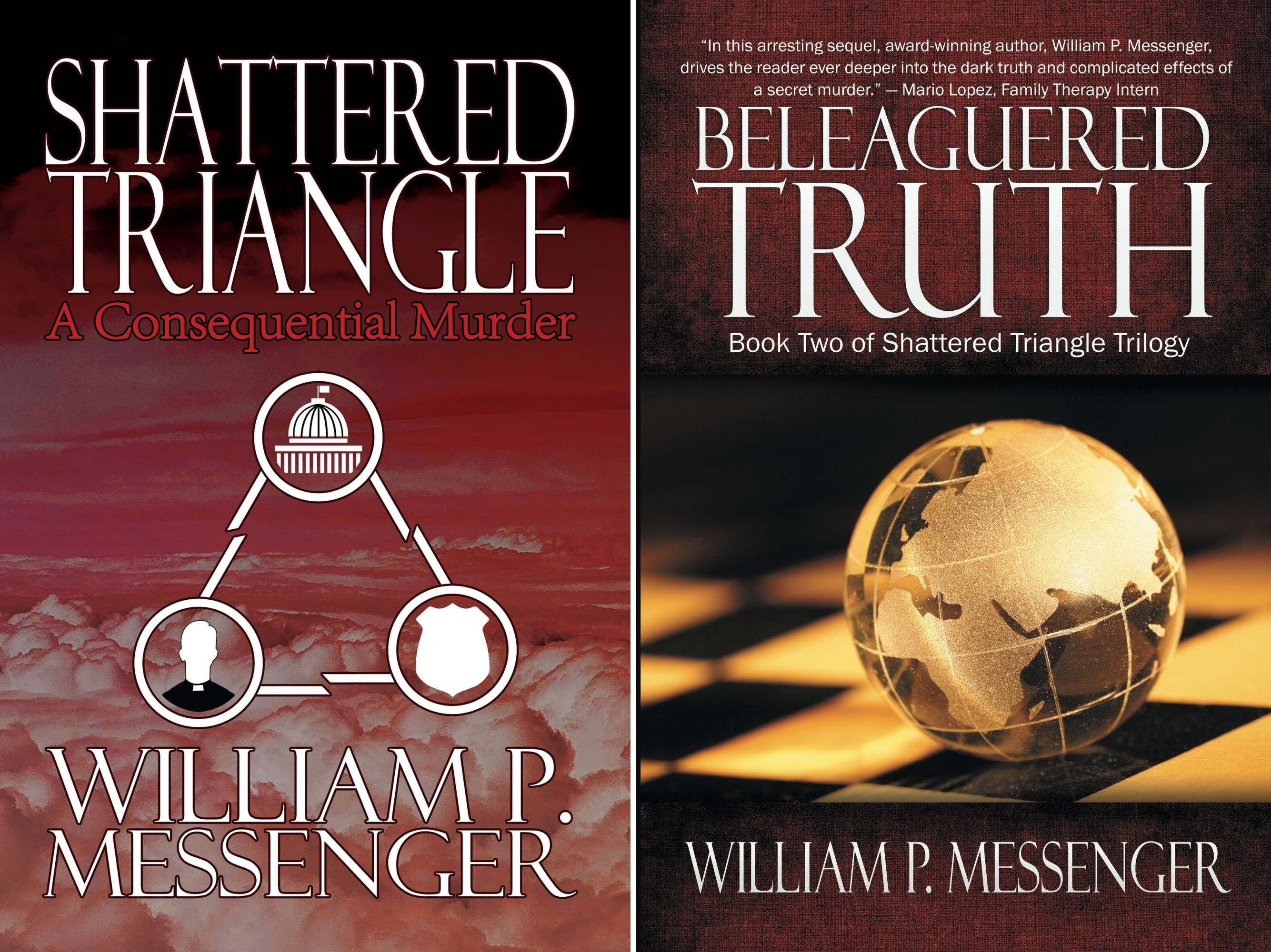 Shattered Triangle (2 Book Series)