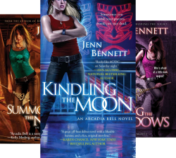 The Arcadia Bell Series (4 Book Series) by  Jenn Bennett