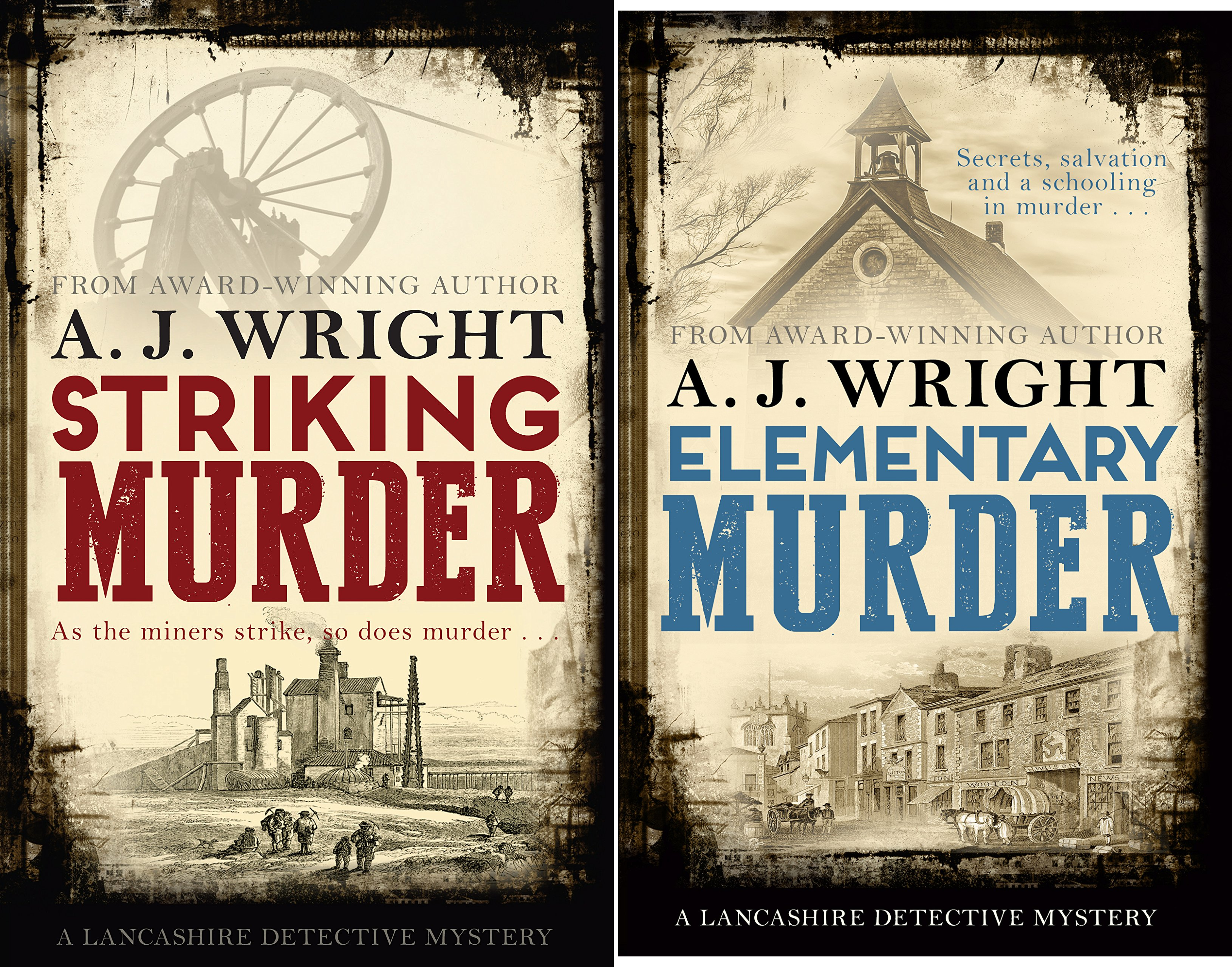 A Lancashire Detective Mystery (2 Book Series)