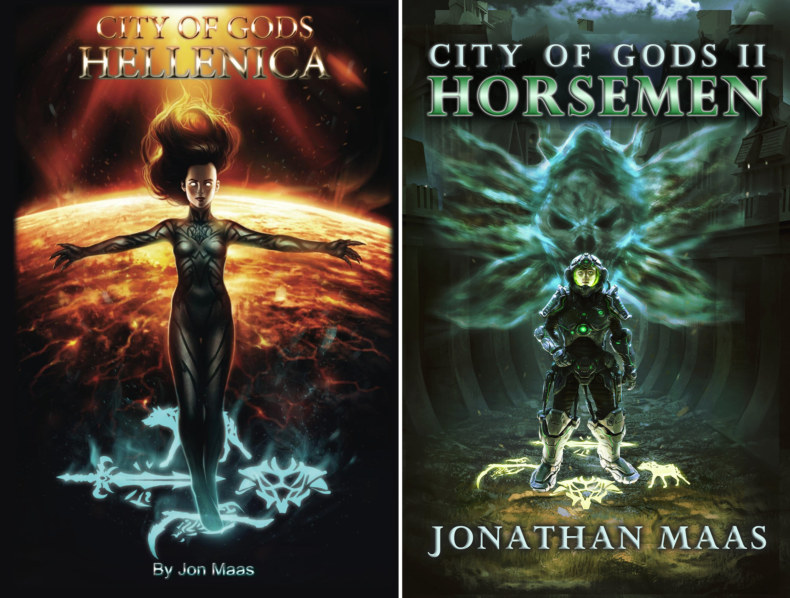 City of Gods (2 Book Series)
