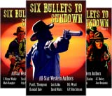 img - for The Six Bullets to Sundown Western Series (9 Book Series) book / textbook / text book
