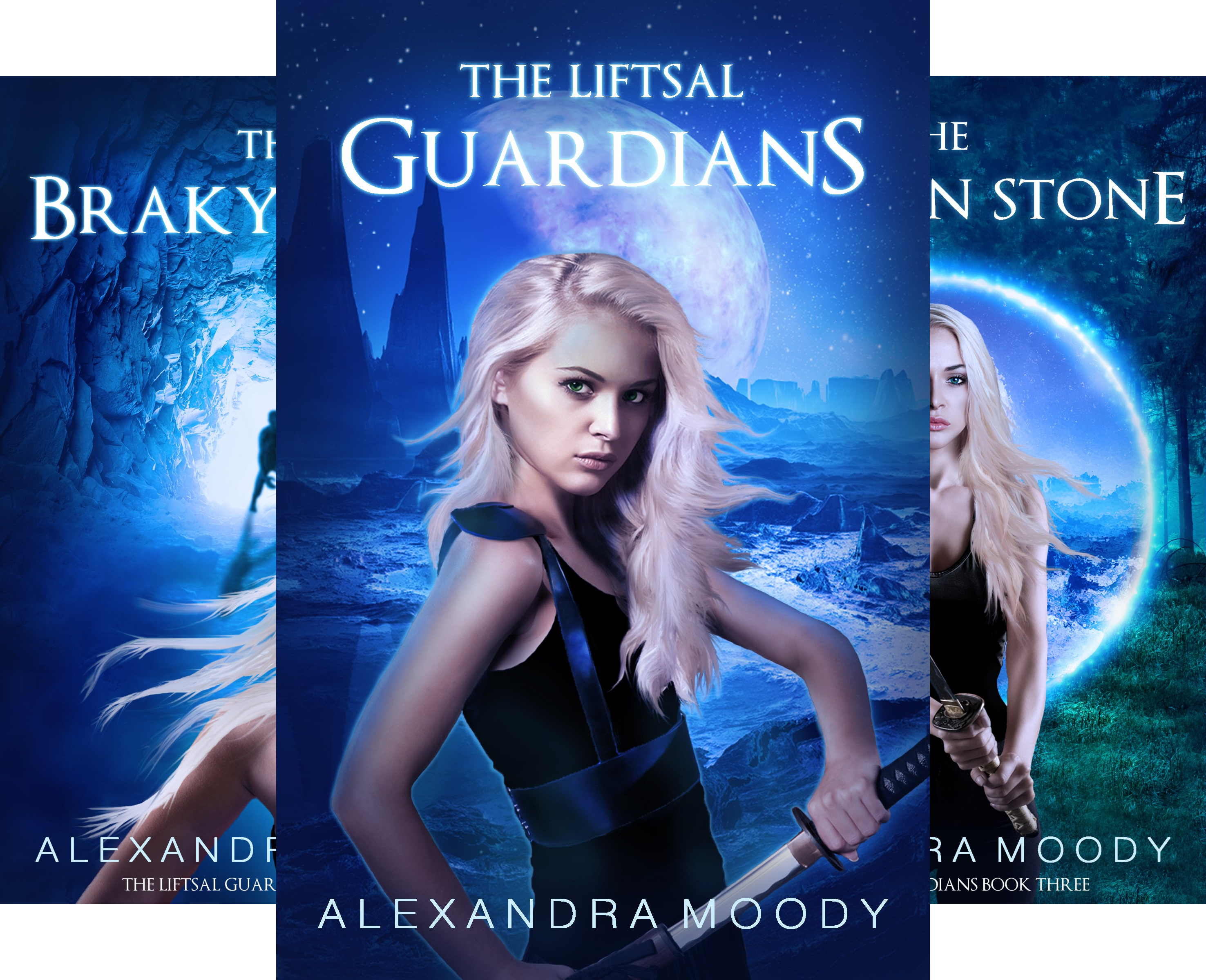The Liftsal Guardians (3 Book Series)