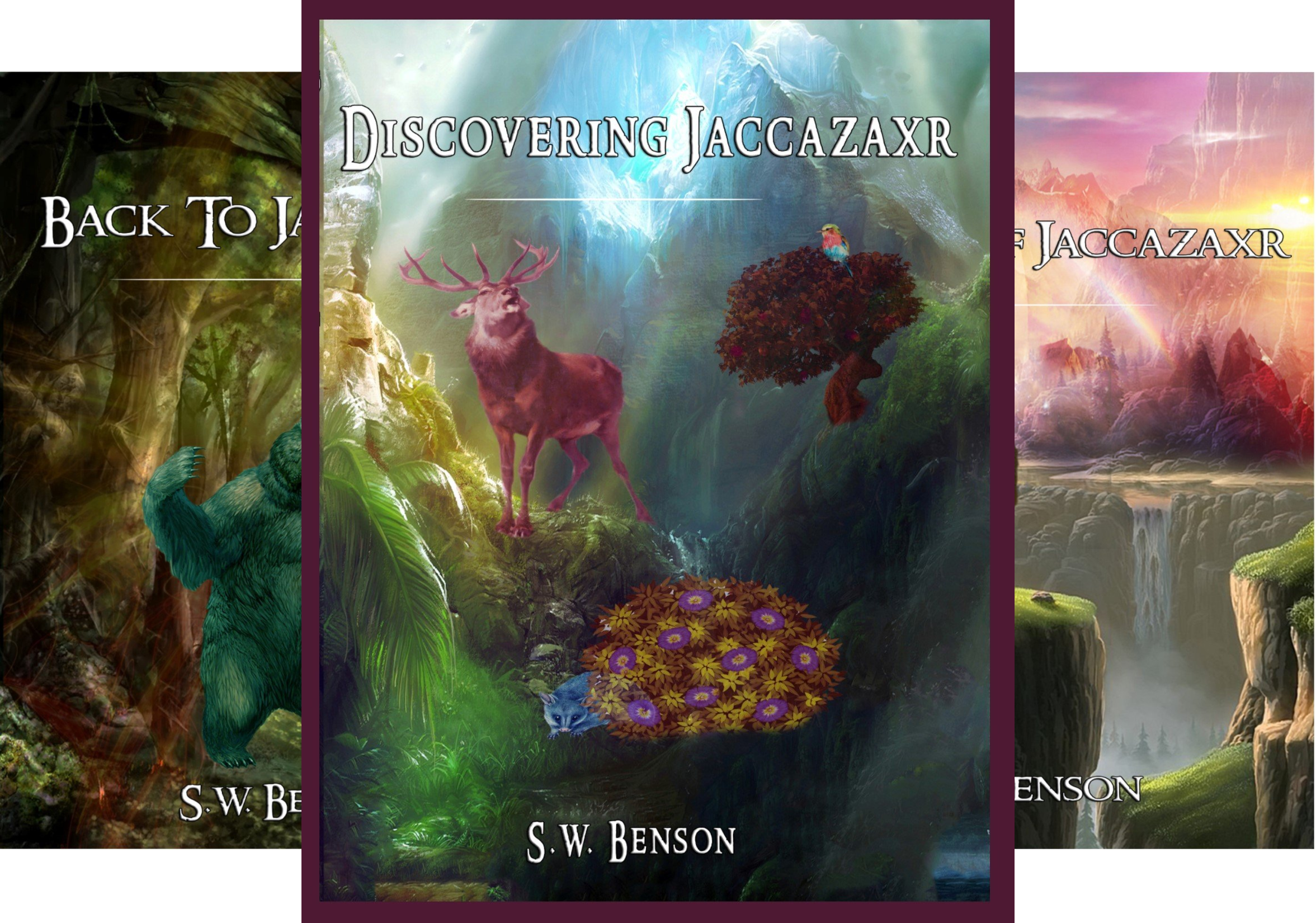 Jaccazaxr (3 Book Series)