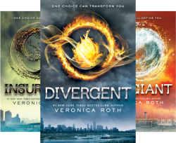 Divergent Trilogy (3 Book Series) by  Veronica Roth