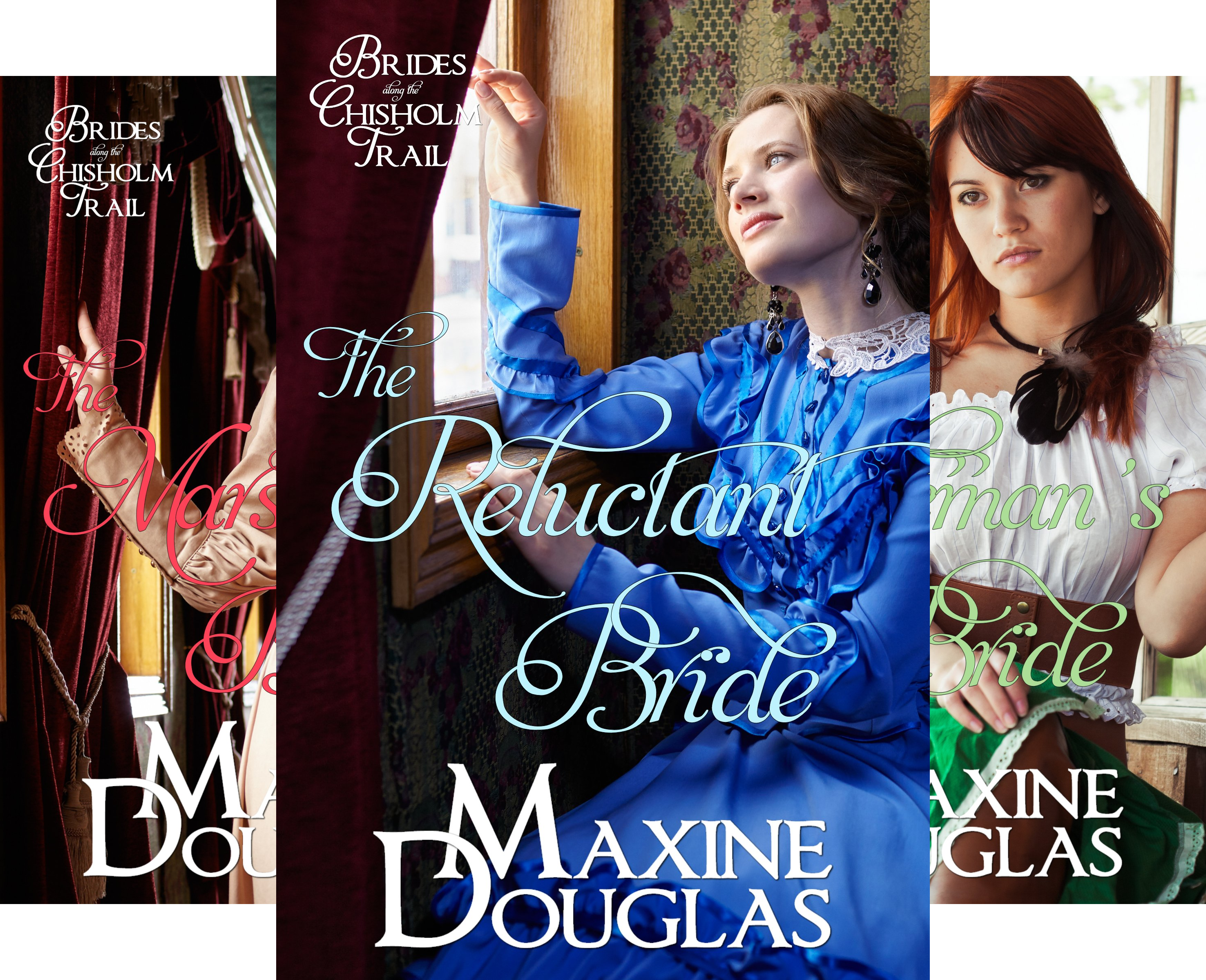 Brides Along the Chisholm Trail (3 Book Series)