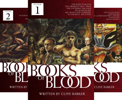 The Books of Blood (6 Book Series) by  Clive Barker Clive  Barker