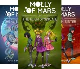 img - for Molly of Mars (7 Book Series) book / textbook / text book