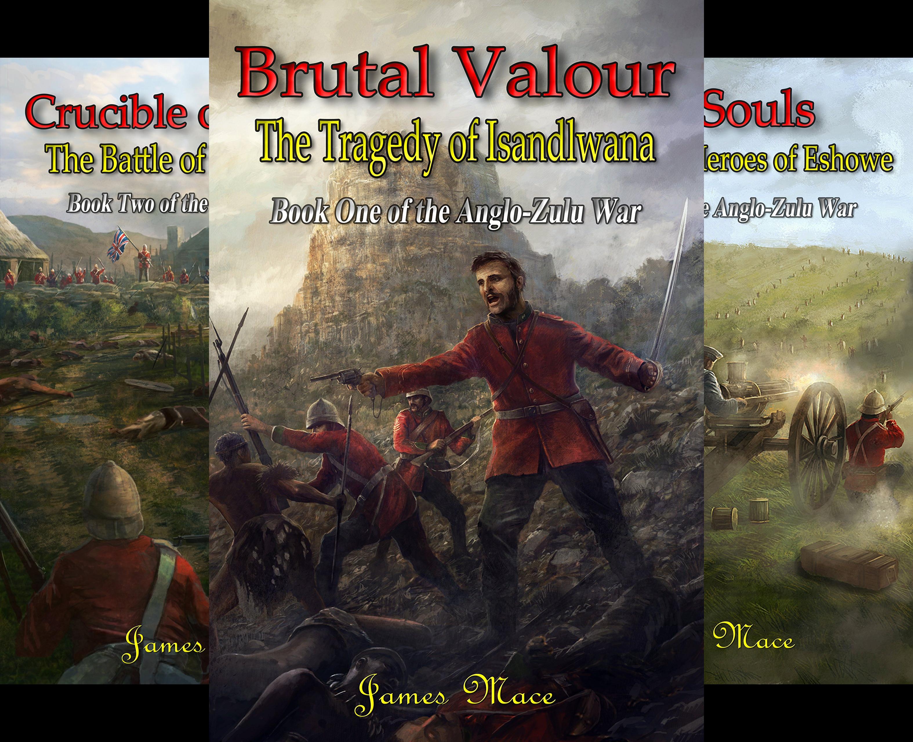 The Anglo-Zulu War (3 Book Series)