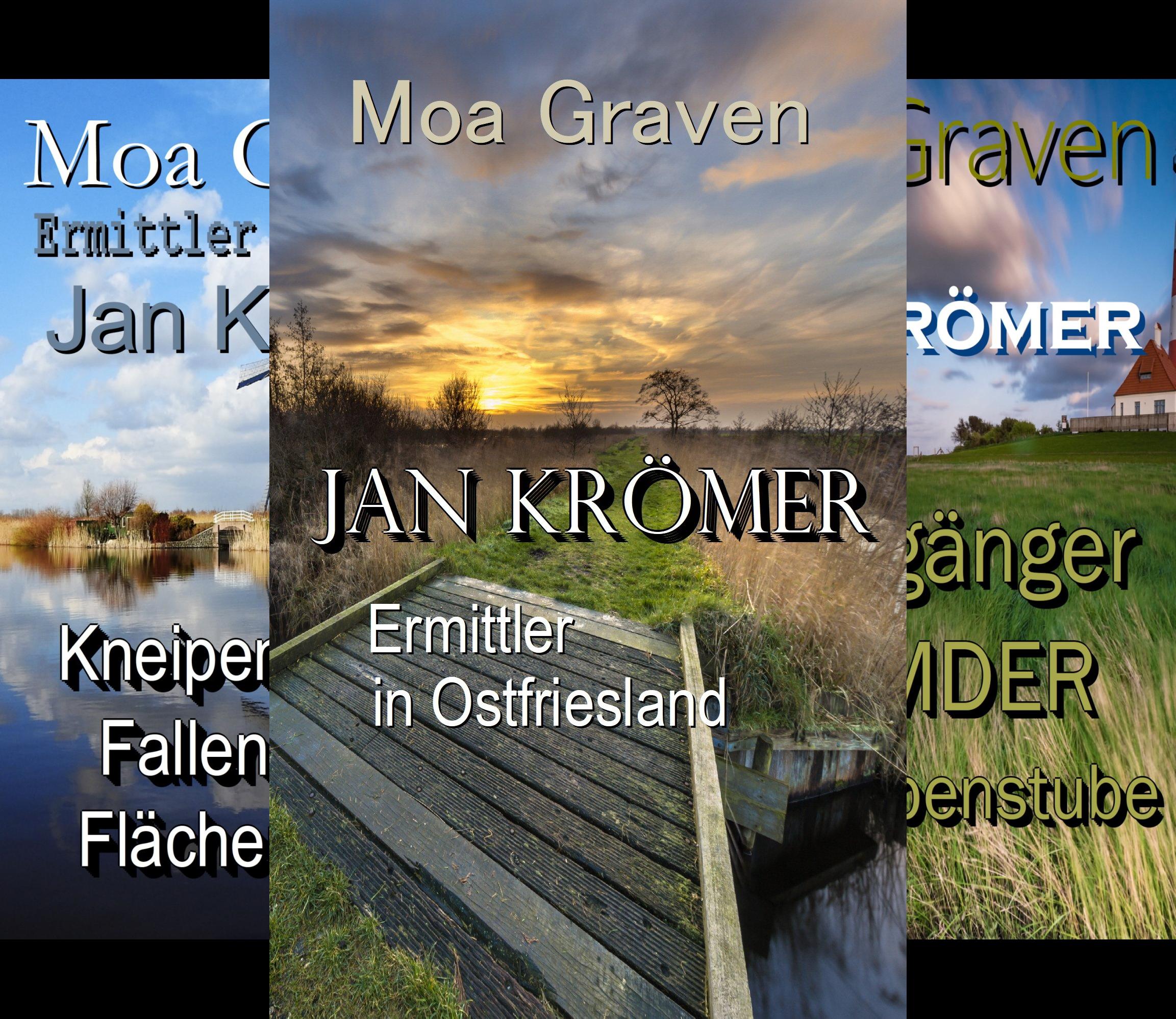 Ermittler Jan Krömer Sammelband (Reihe in 3 Bänden)