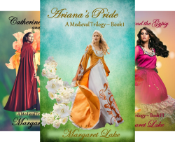 A Medieval Trilogy (3 Book Series) by  Margaret Lake