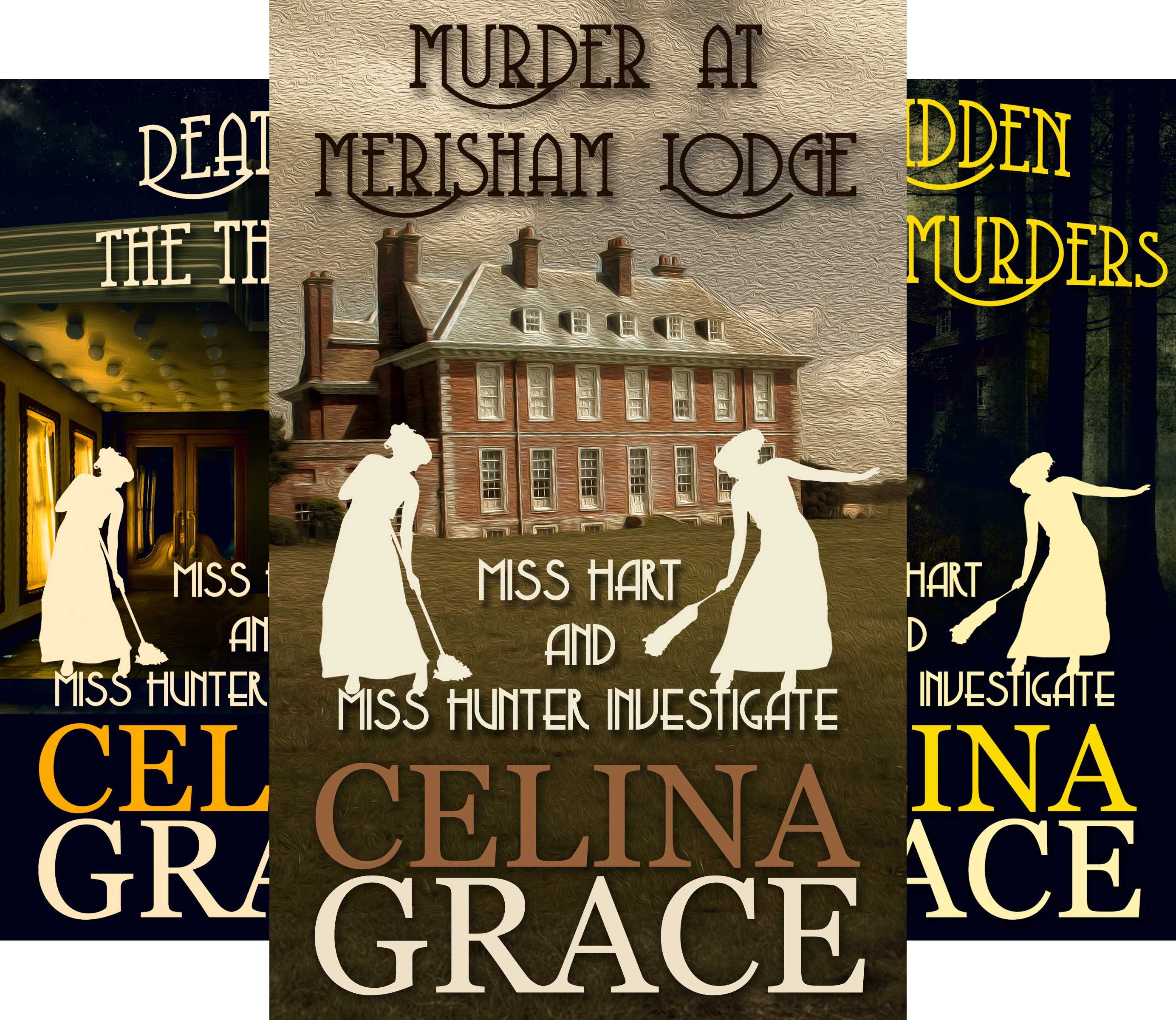 Miss Hart and Miss Hunter Investigate (3 Book Series)