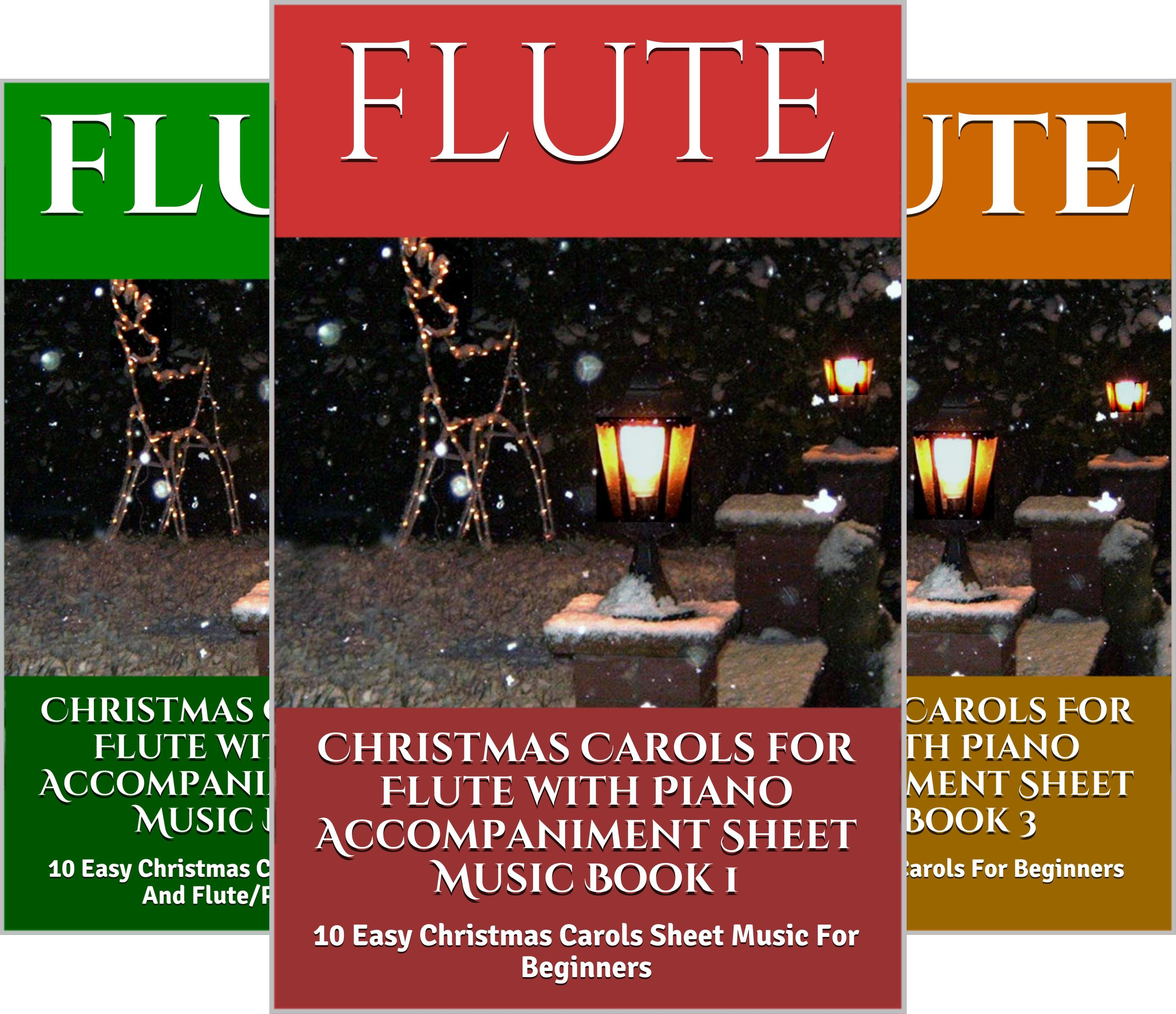 Christmas Carols for Flute (4 Book Series)