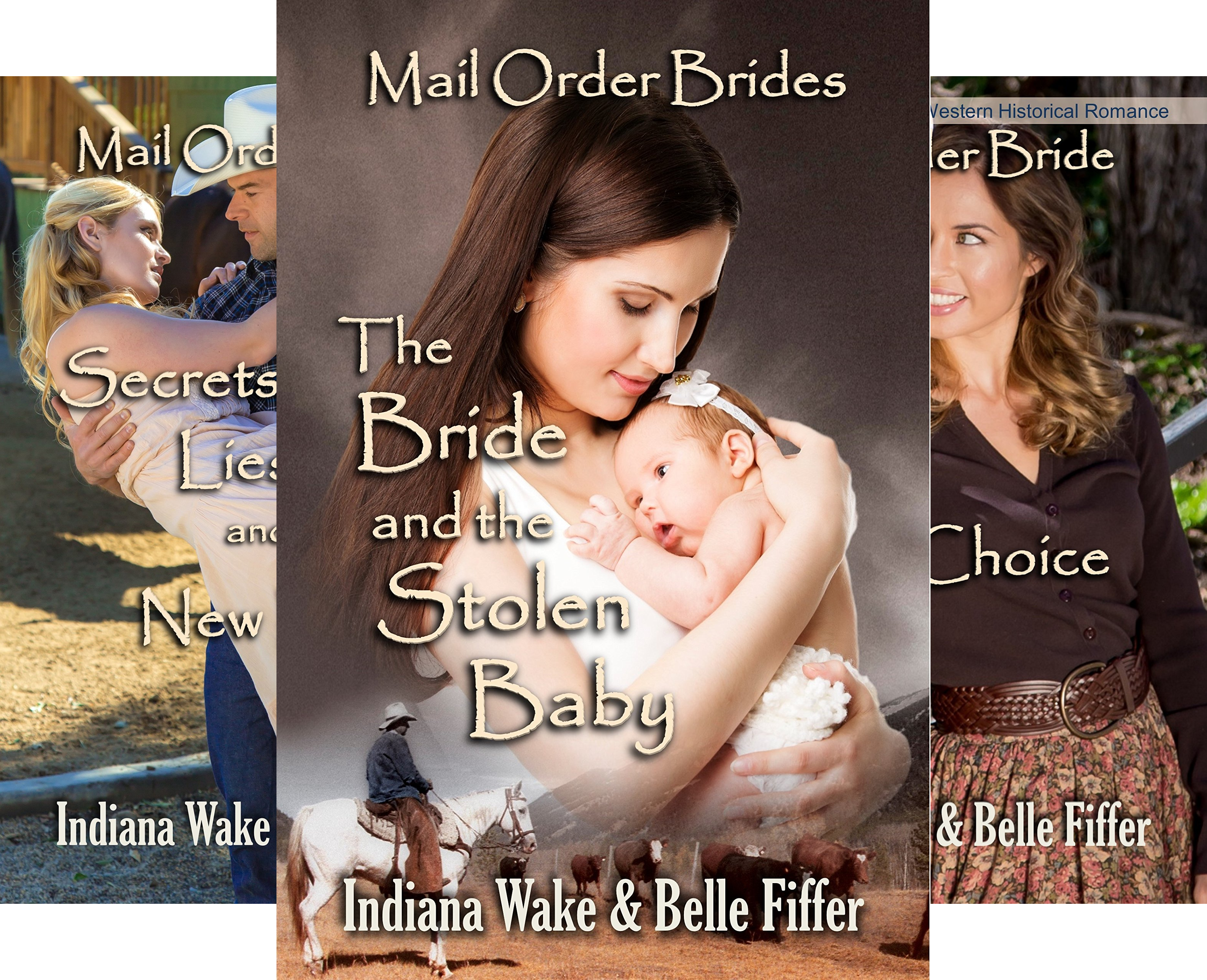 Mail Order Bride's and the Marriage Agent (3 Book Series)