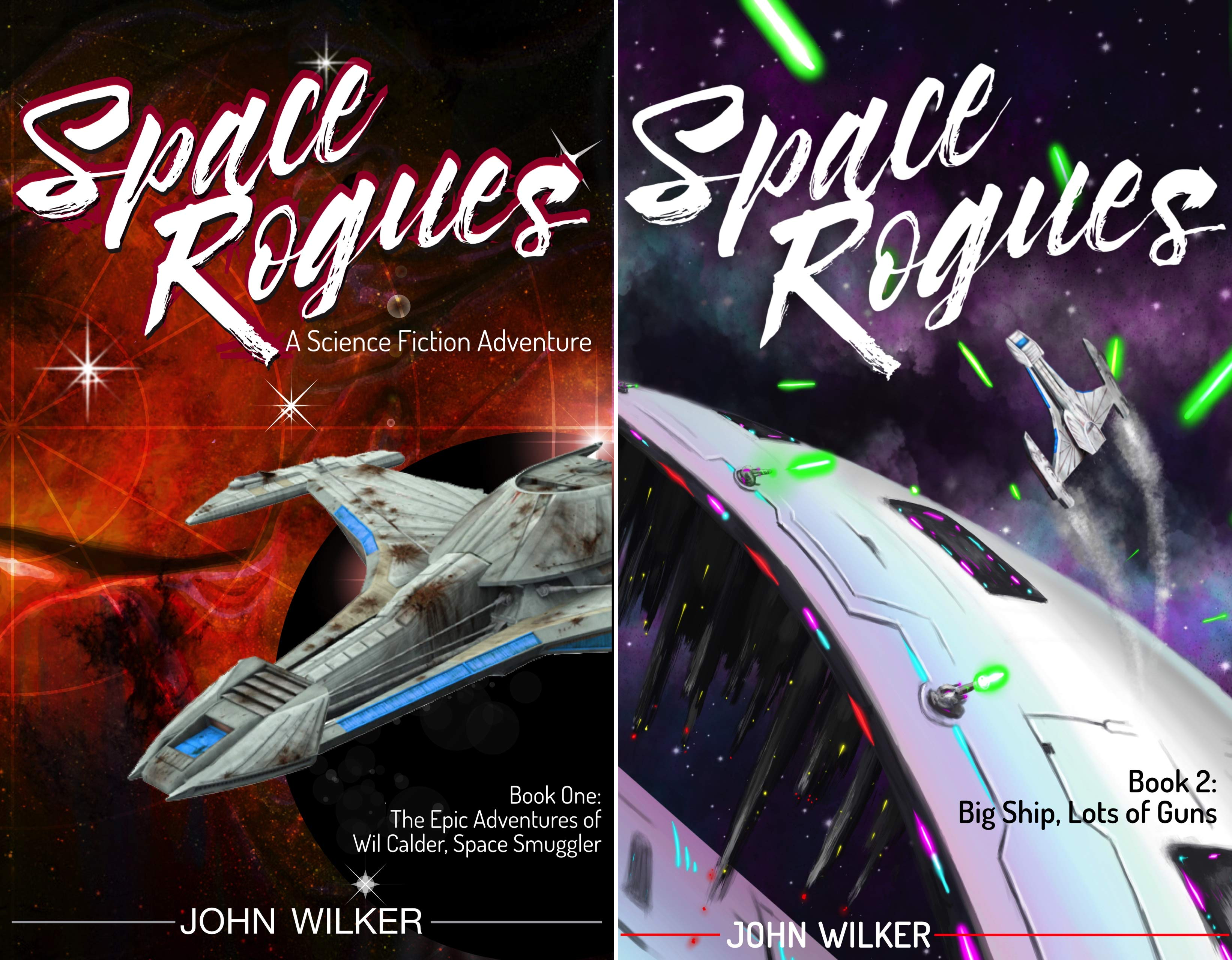 Space Rogues (2 Book Series)