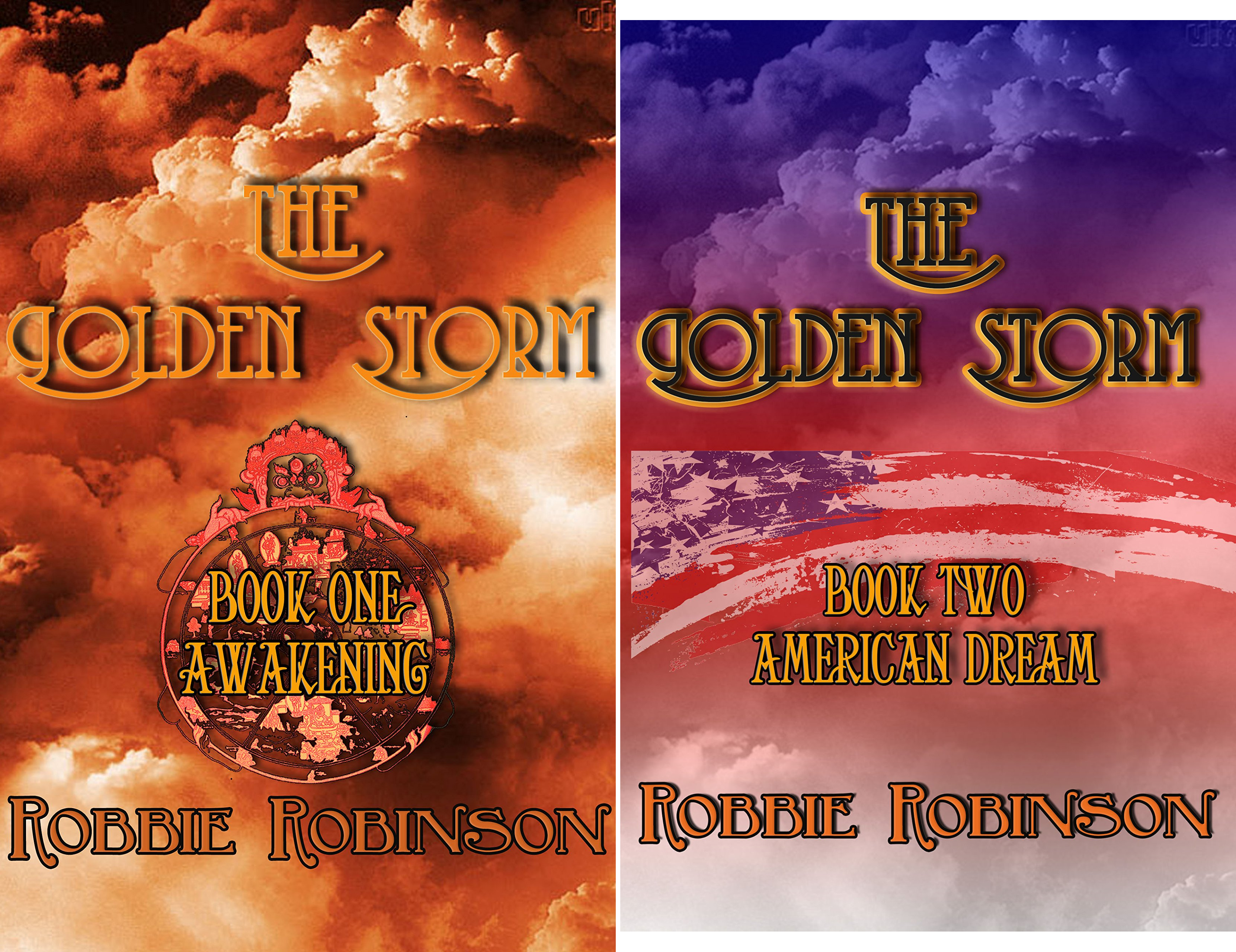 The Golden Storm (2 Book Series)