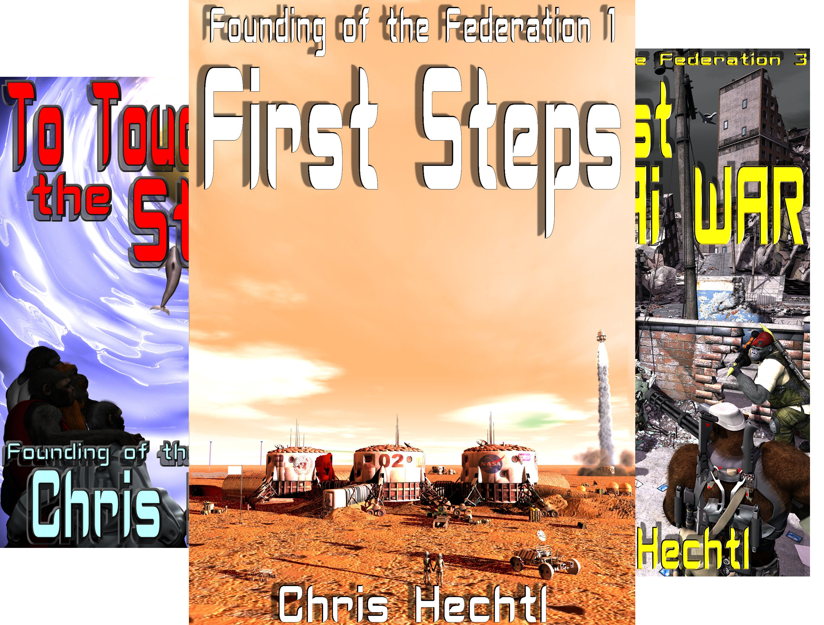 Founding of the Federation (4 Book Series)