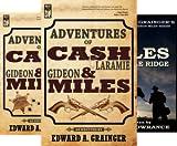 img - for Cash Laramie & Gideon Miles Series (8 Book Series) book / textbook / text book