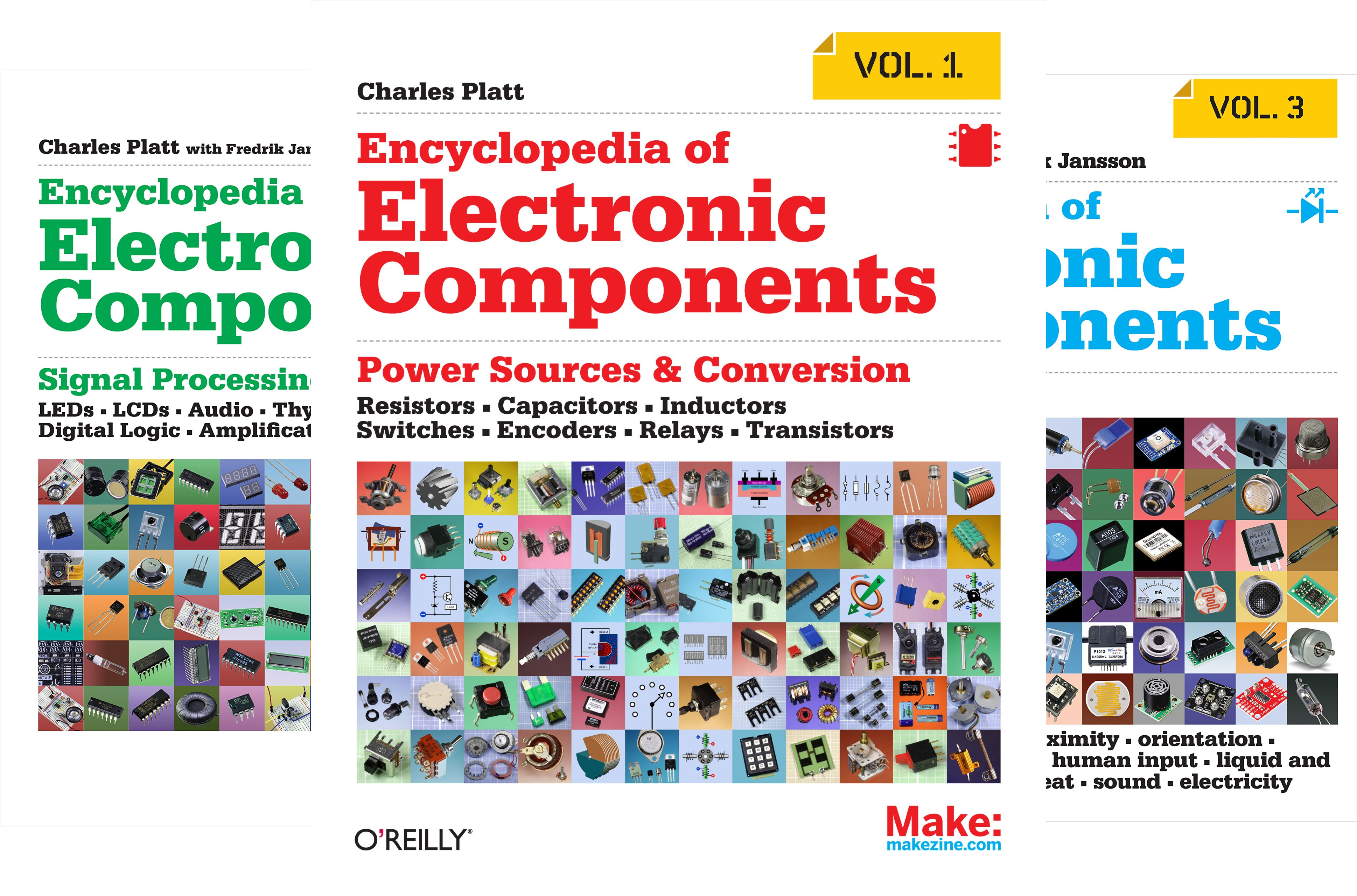 Encyclopedia of Electronic Components (3 Book Series)