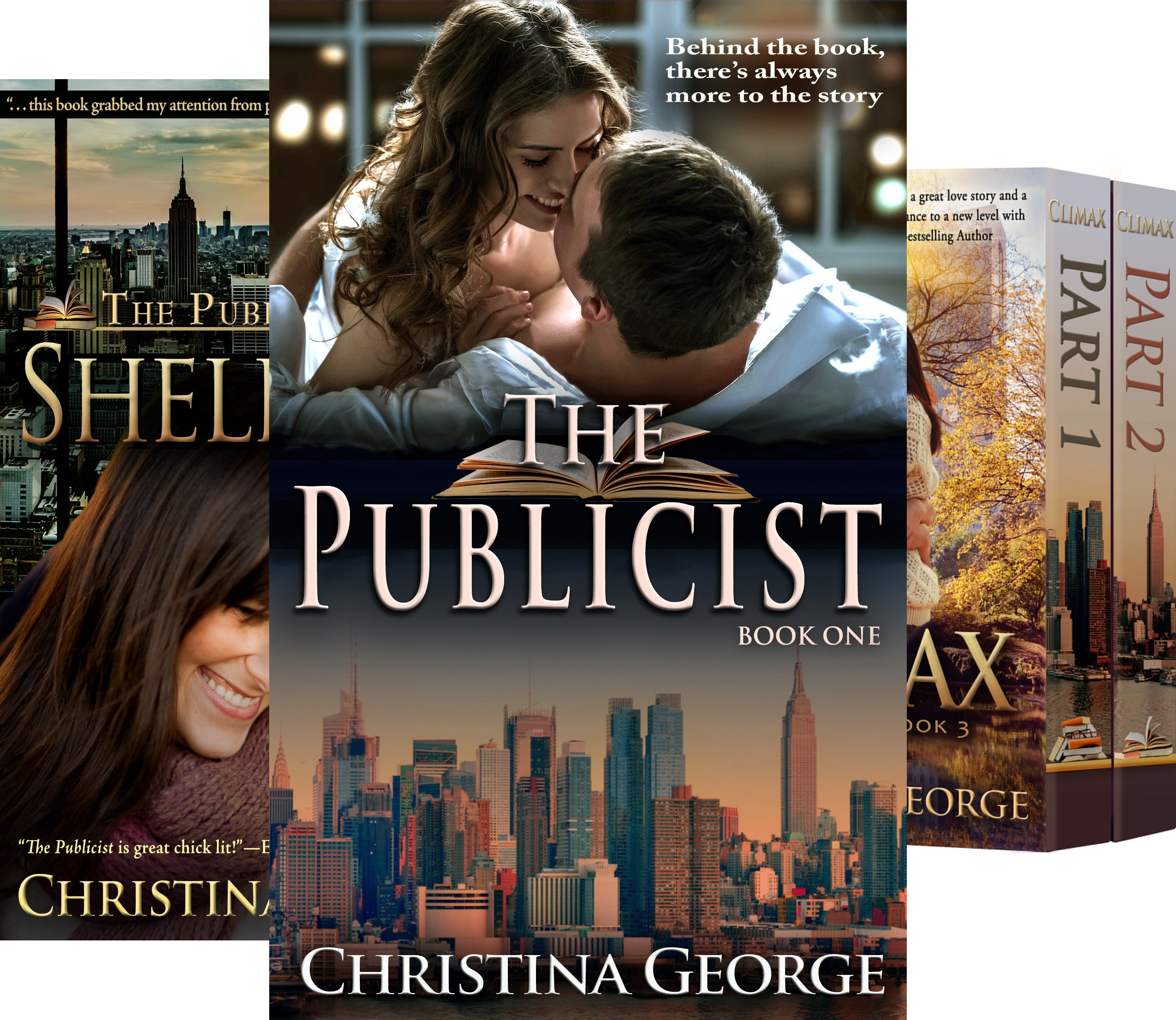 The Publicist (4 Book Series)