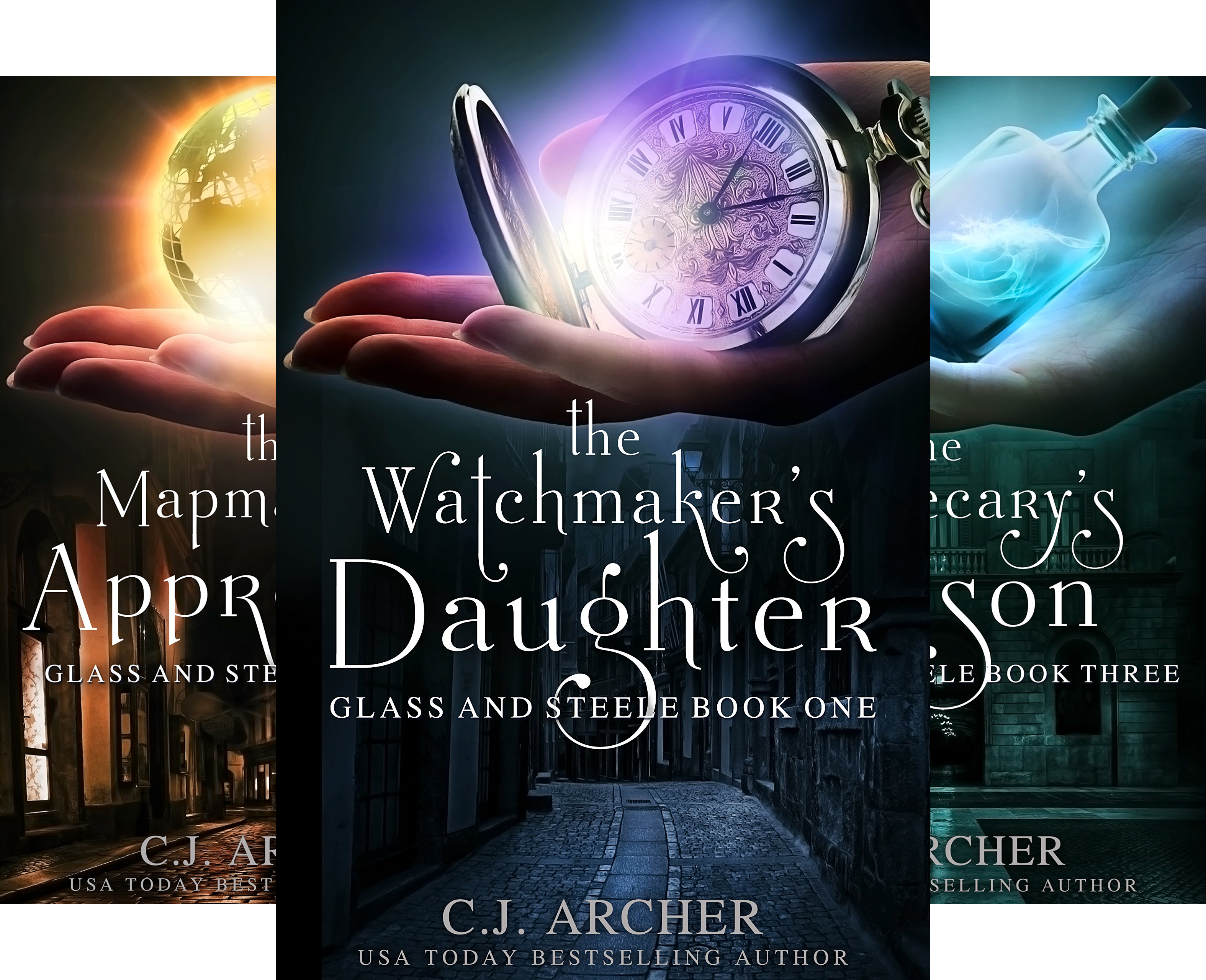 Glass and Steele (4 Book Series)