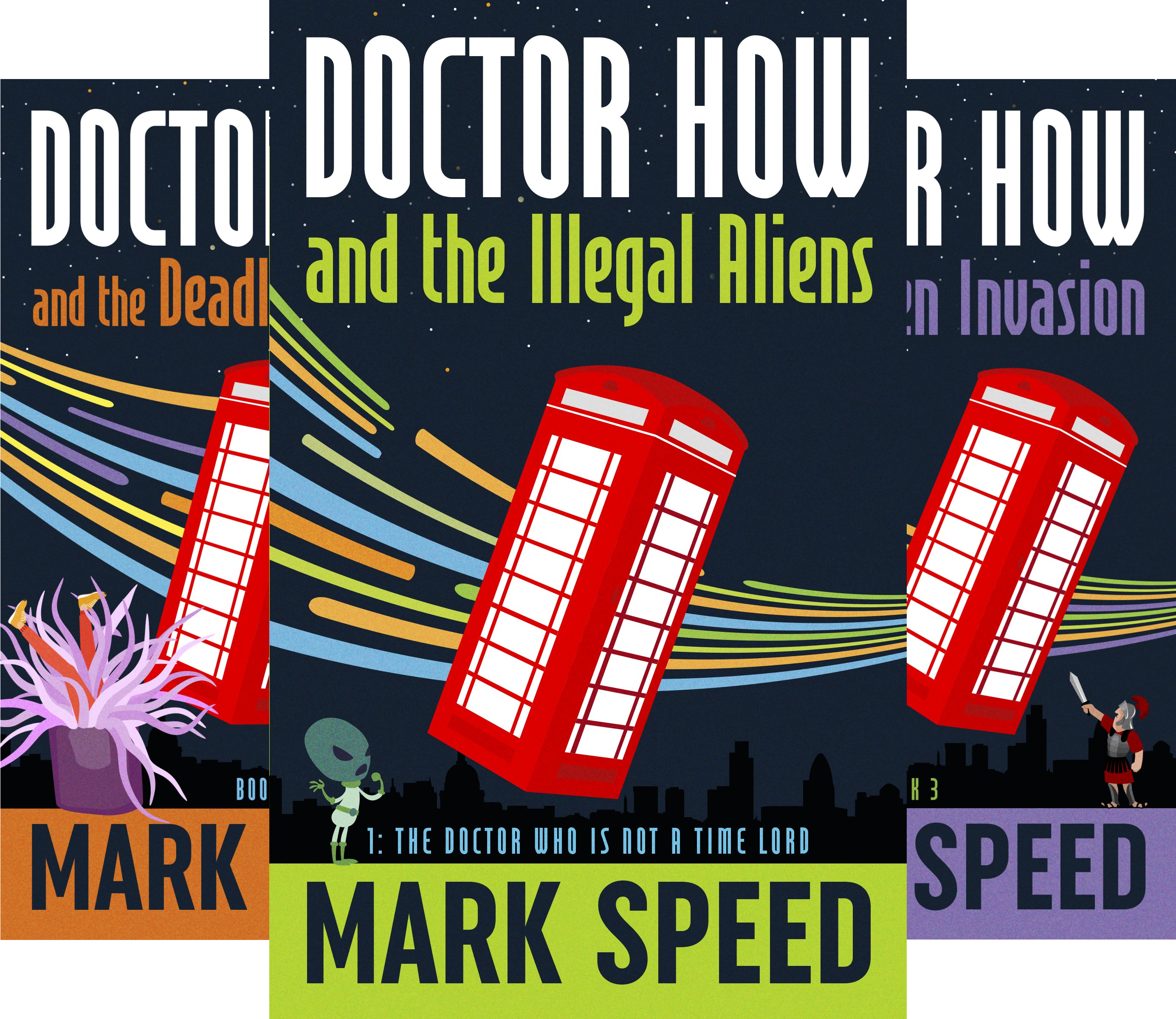 Doctor How (4 Book Series)