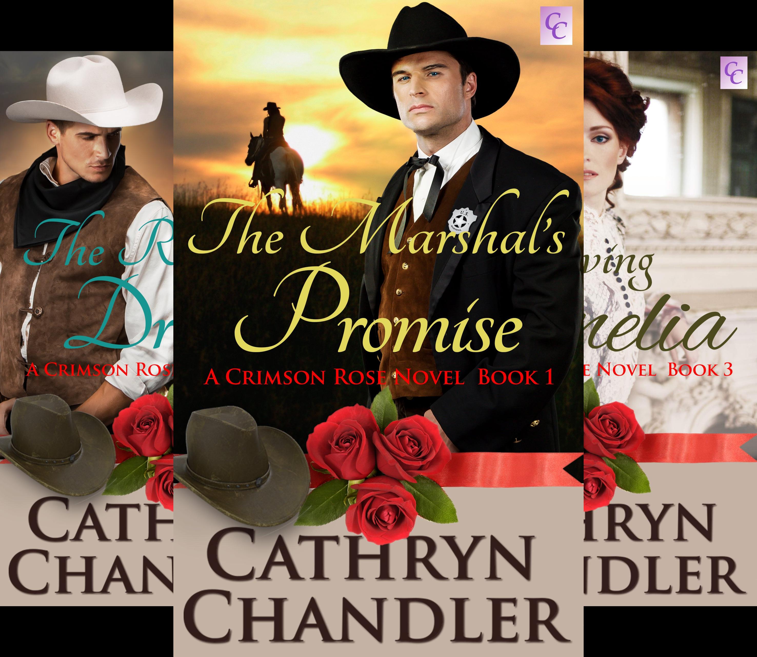 A Crimson Rose Novel (3 Book Series)