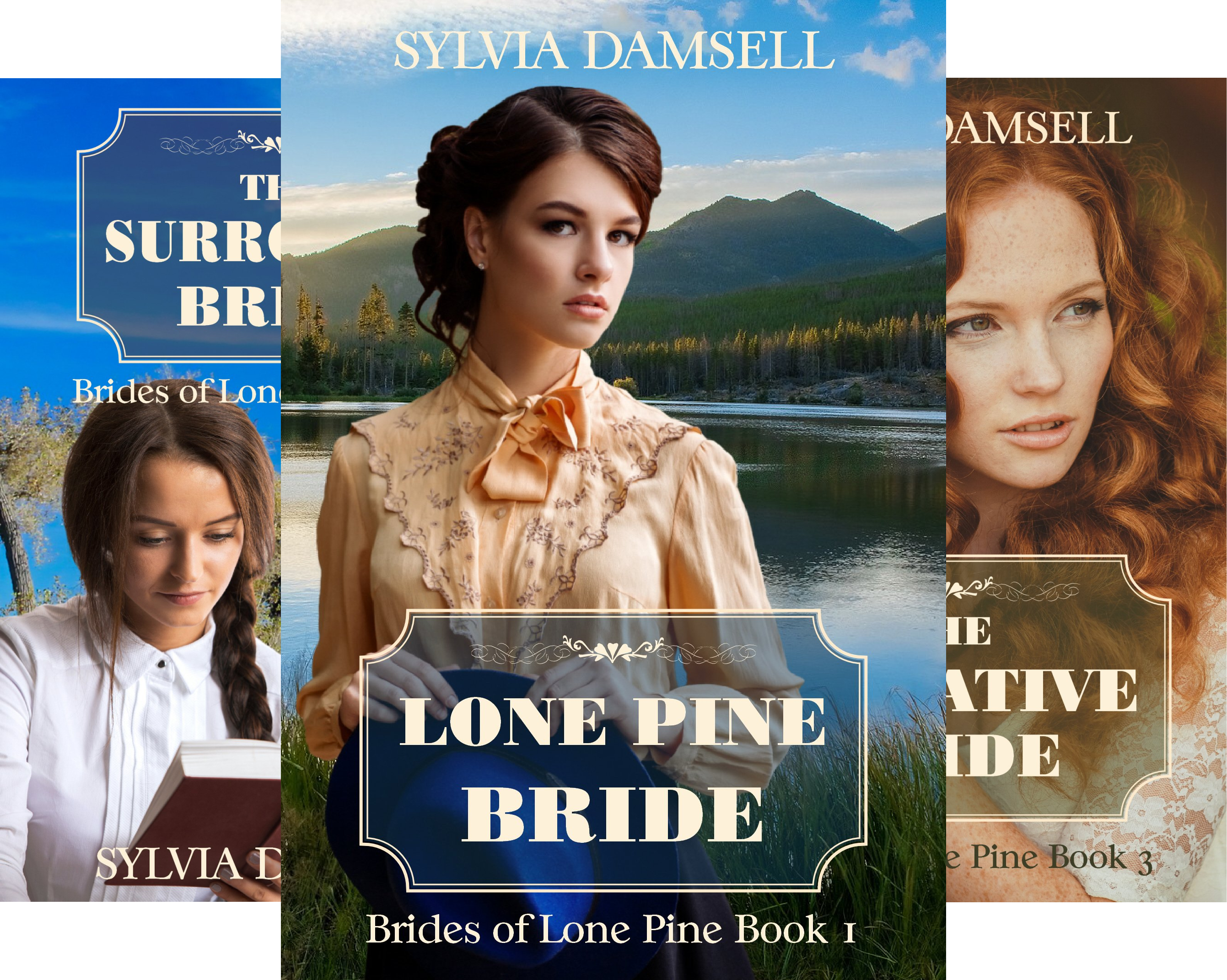 Brides of Lone Pine (8 Book Series)