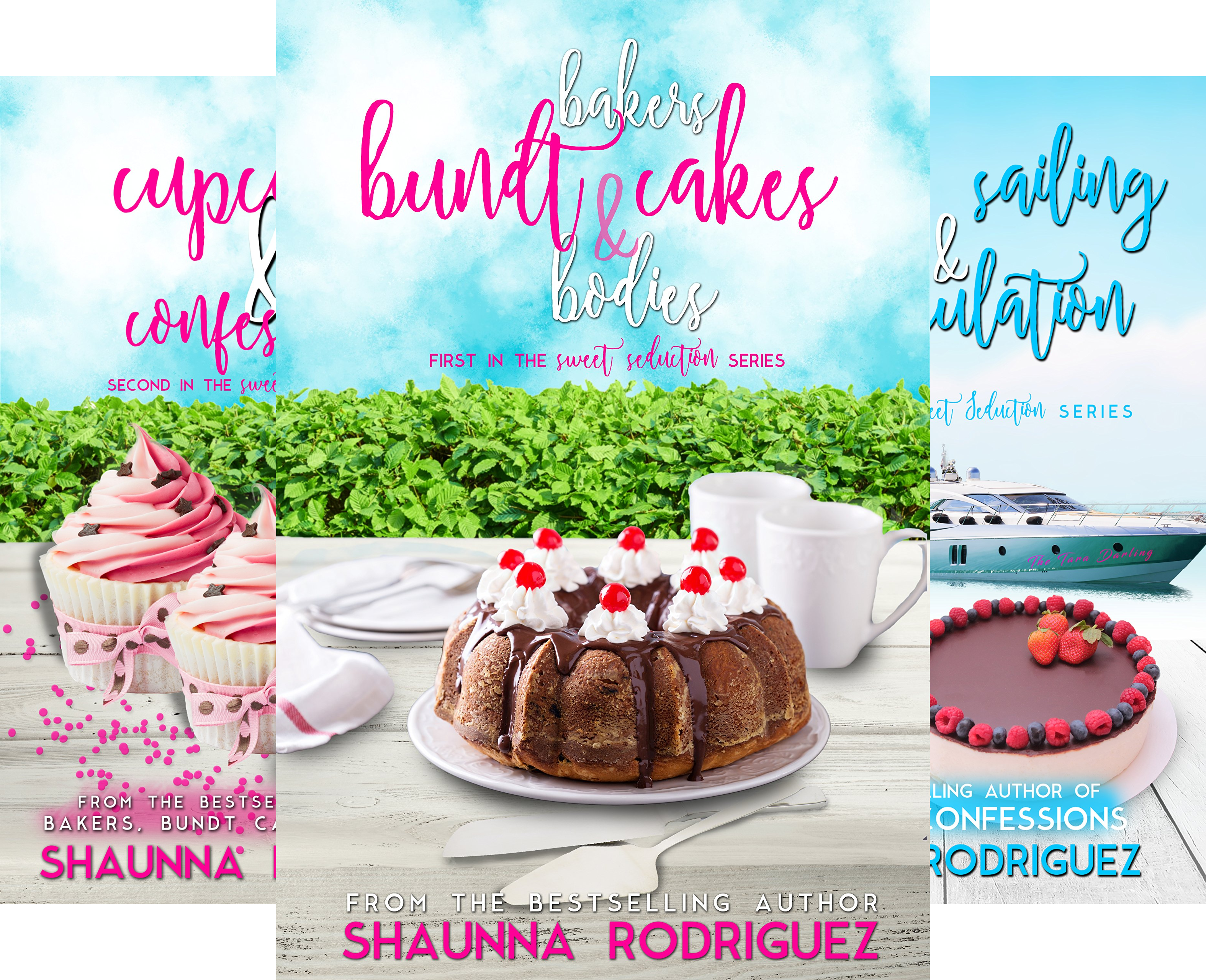 Sweet Seduction Mystery (4 Book Series)