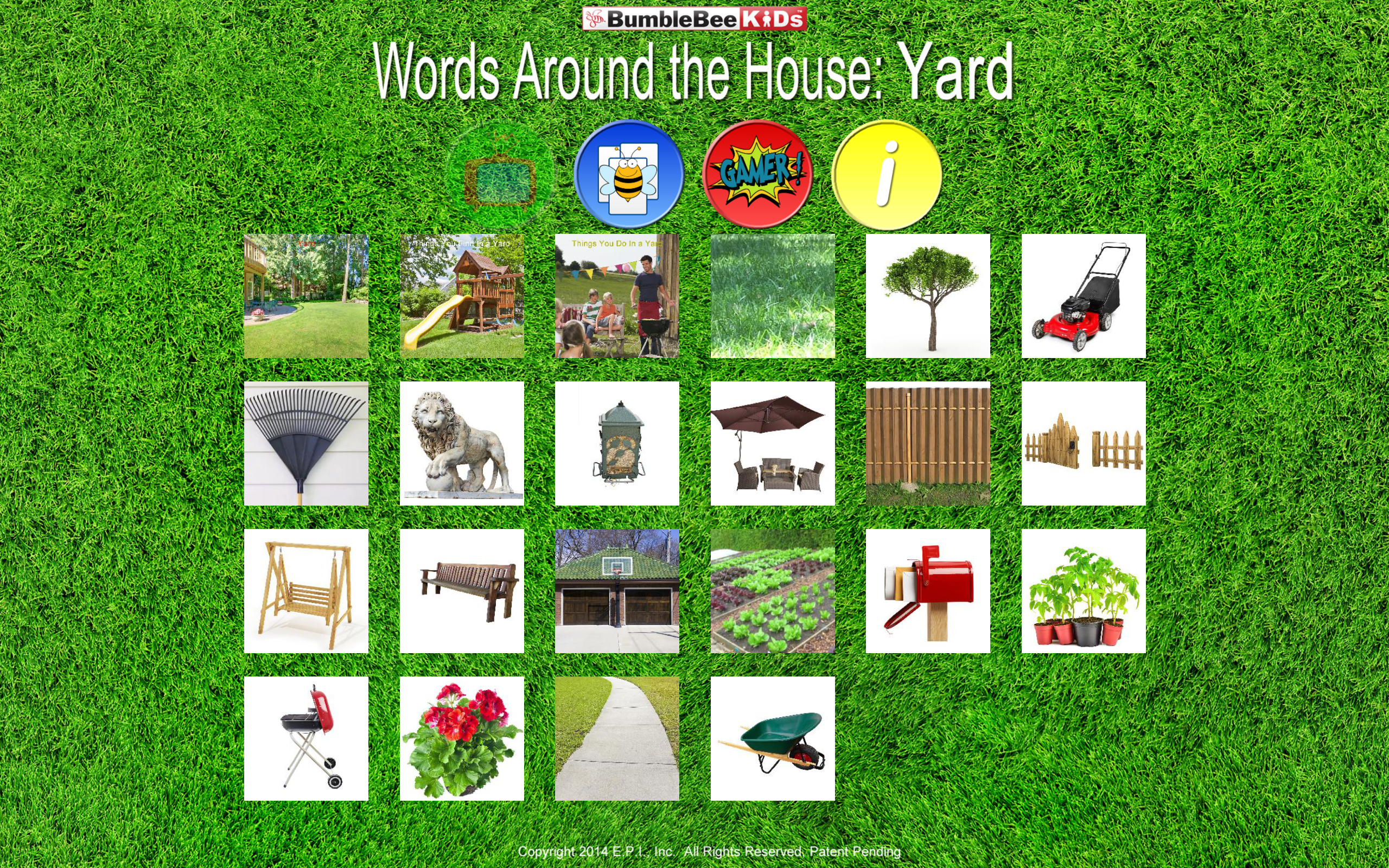 Words Around the House™ - Yard -Video Flashcard Player ...