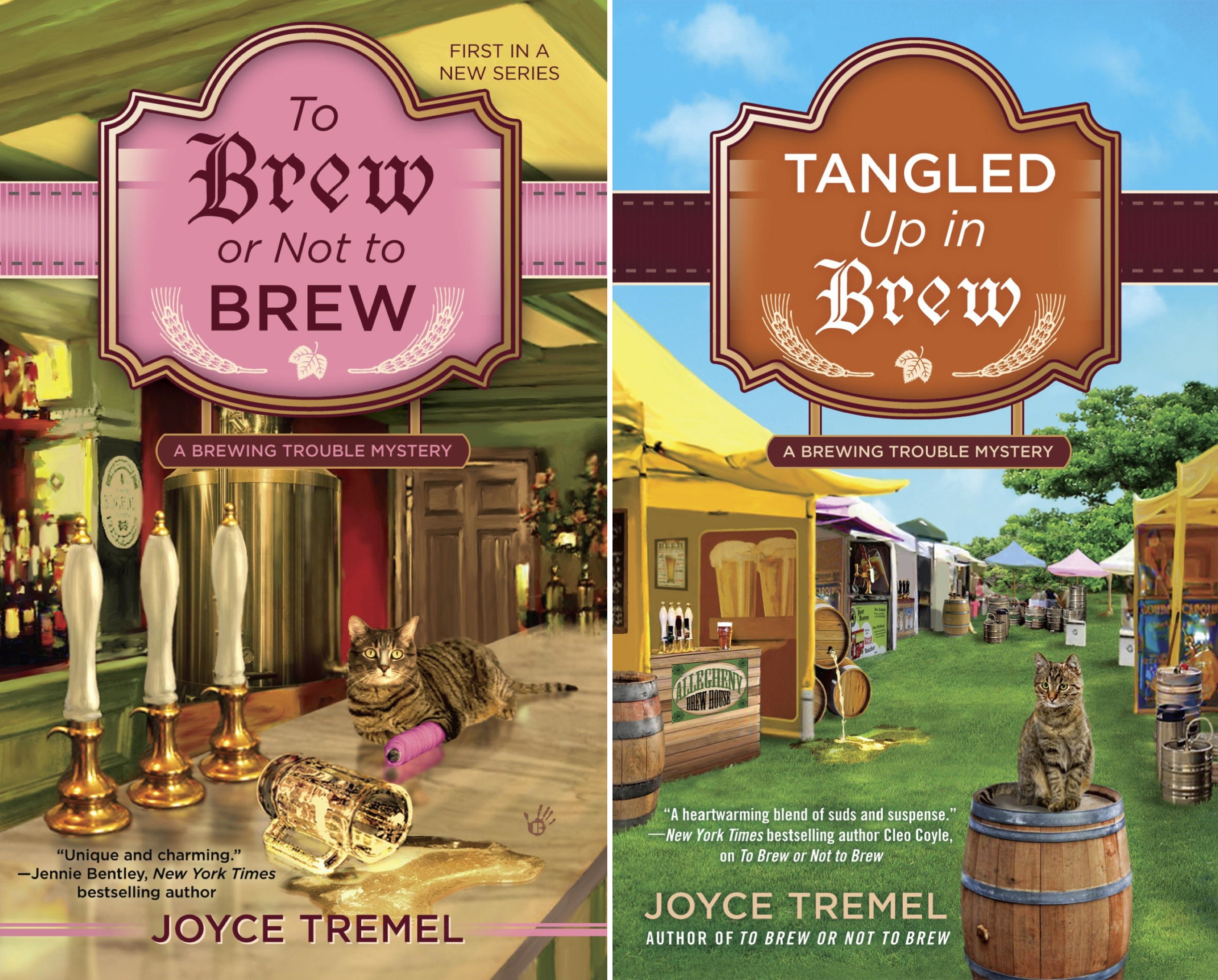 A Brewing Trouble Mystery (3 Book Series)