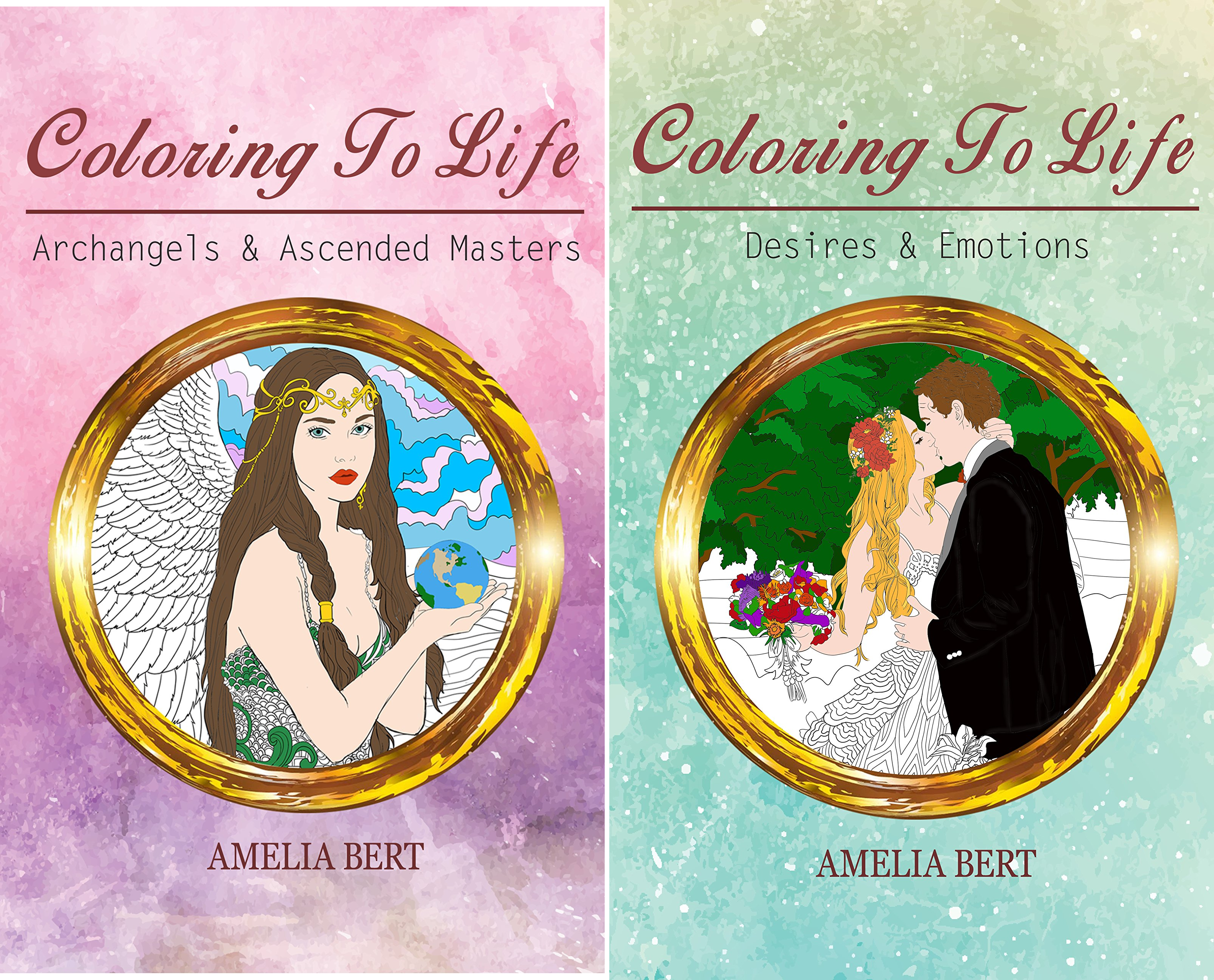 Coloring to Life (2 Book Series)