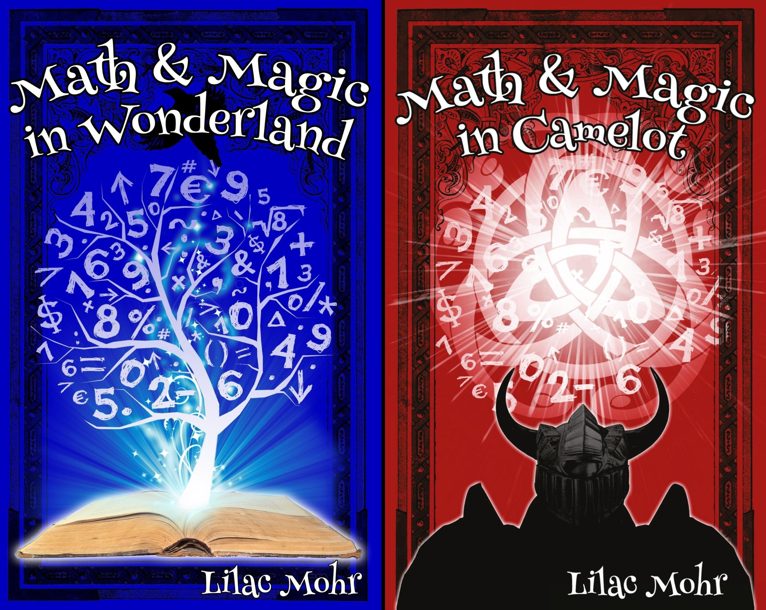 Math and Magic Adventures (2 Book Series)