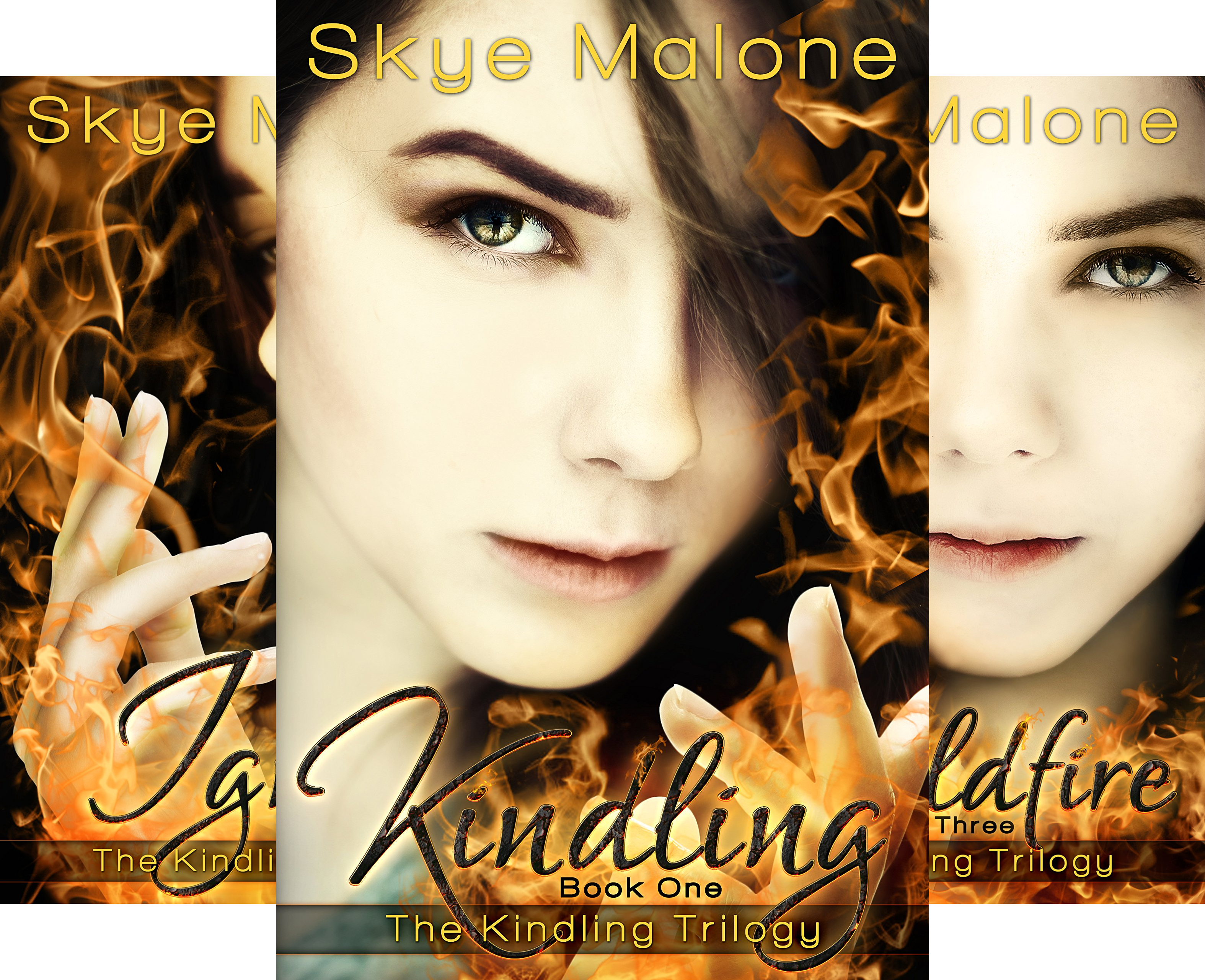 Kindling Trilogy (3 Book Series) (Bundles Kindling)