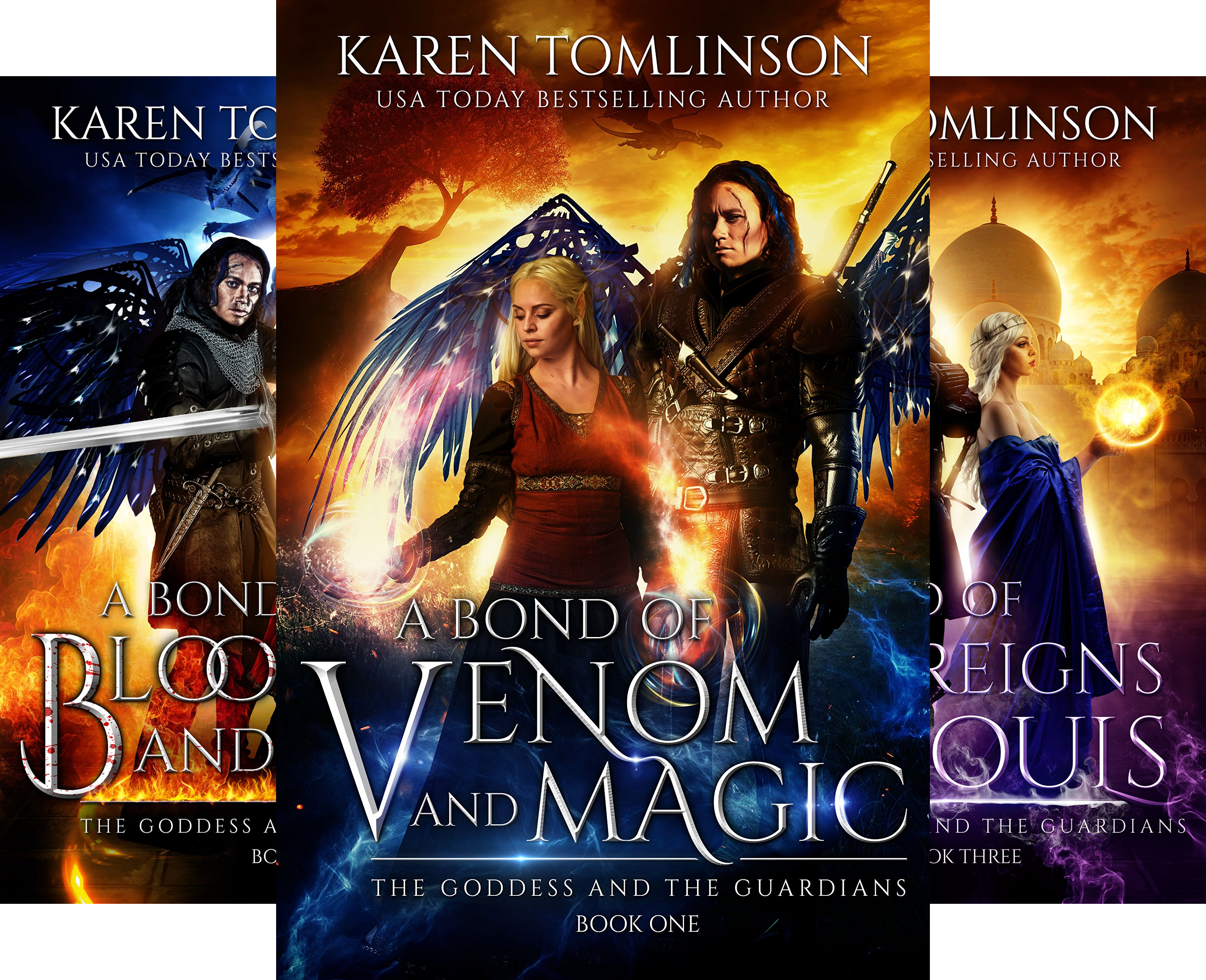 The Goddess and the Guardians (4 Book Series)