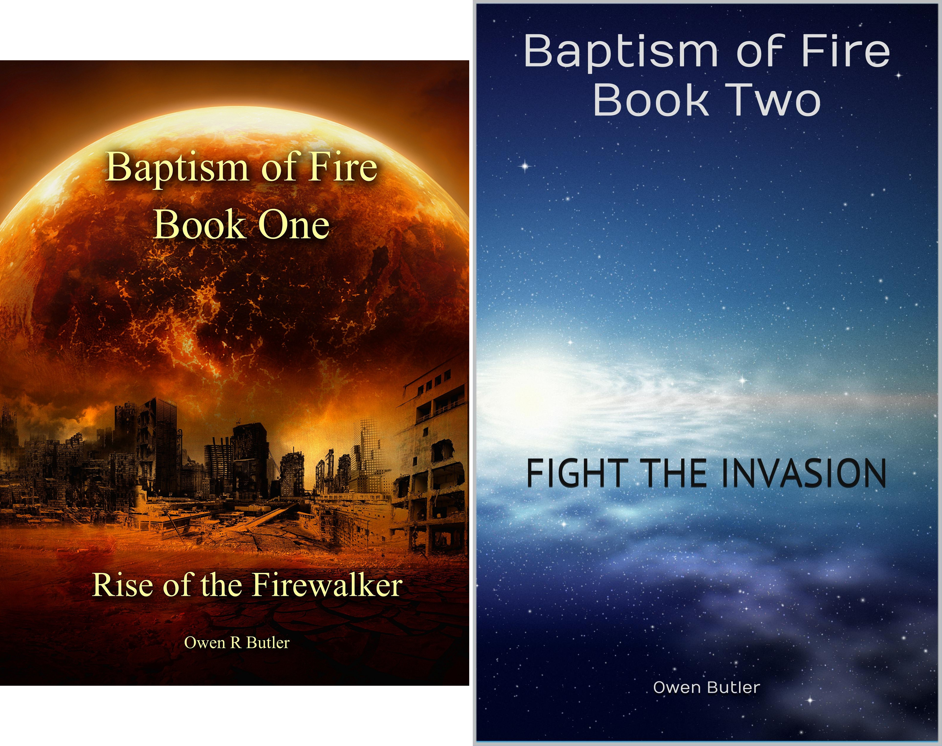 Baptism Of Fire (2 Book Series)
