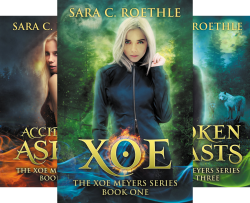 Xoe Meyers Fantasy/Horror Series (7 Book Series) by  Sara C. Roethle Sara C Roethle