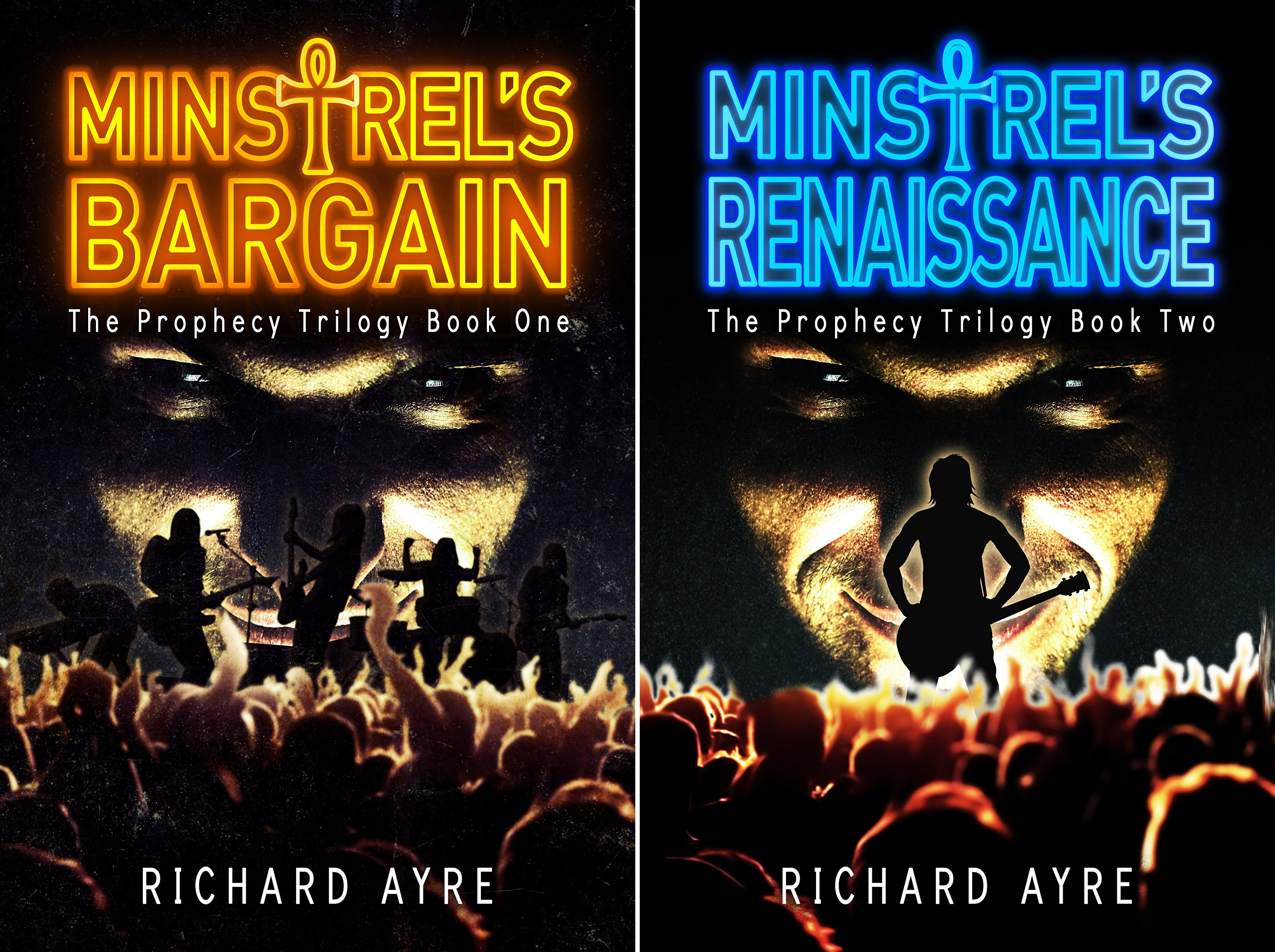 The Prophecy Trilogy (2 Book Series)
