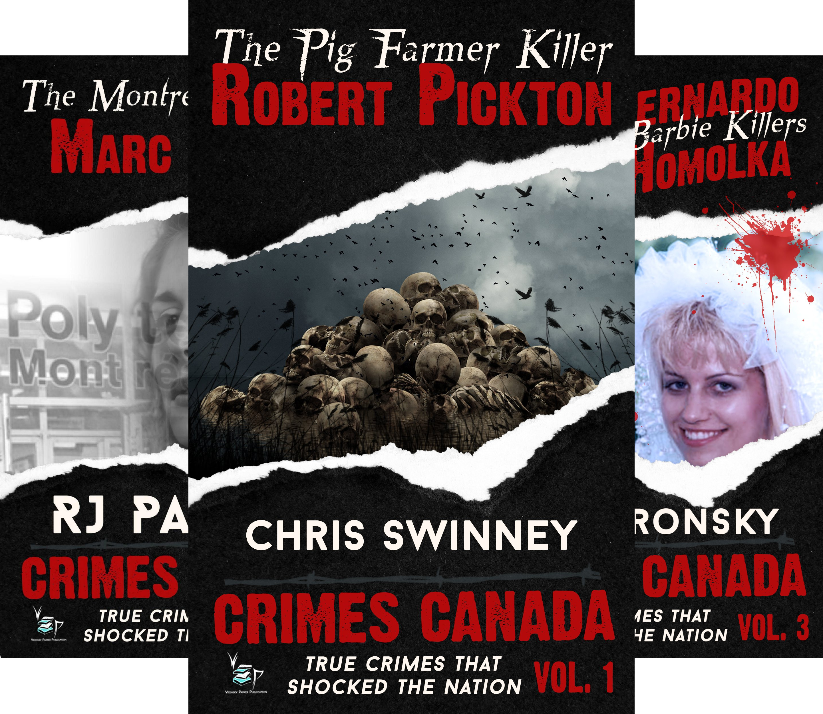 Crimes Canada: True Crimes That Shocked the Nation (18 Book Series)