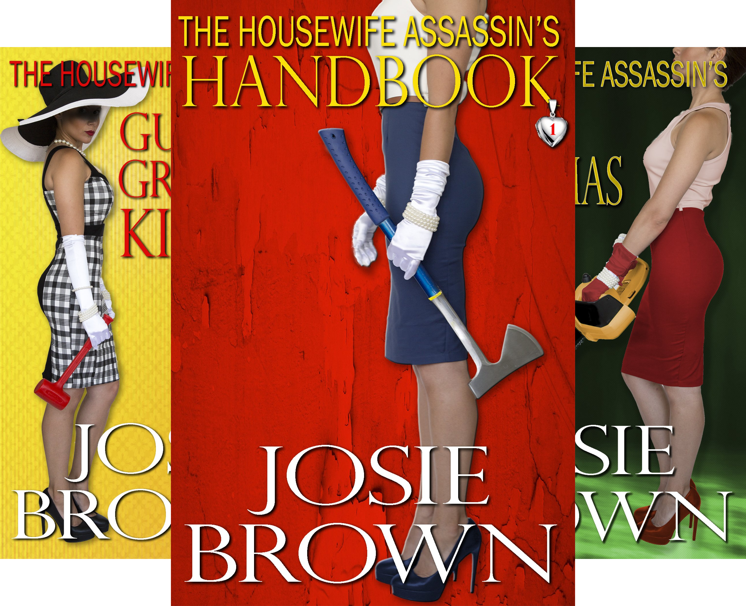 Housewife Assassin Series (16 Book Series)