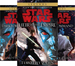 Star Wars - The Thrawn Trilogy (3 Book Series) by  Timothy Zahn