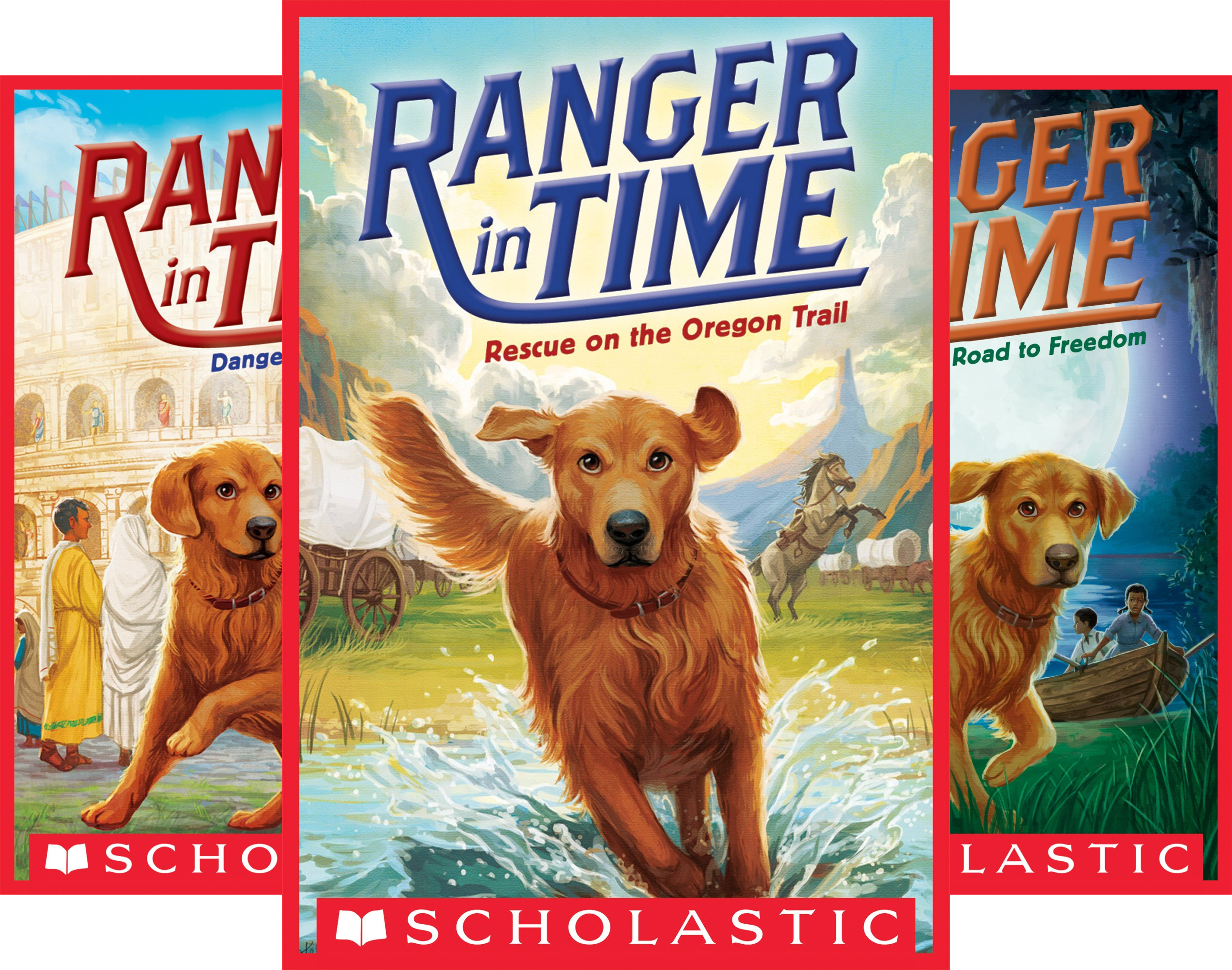 Ranger in Time (8 Book Series)
