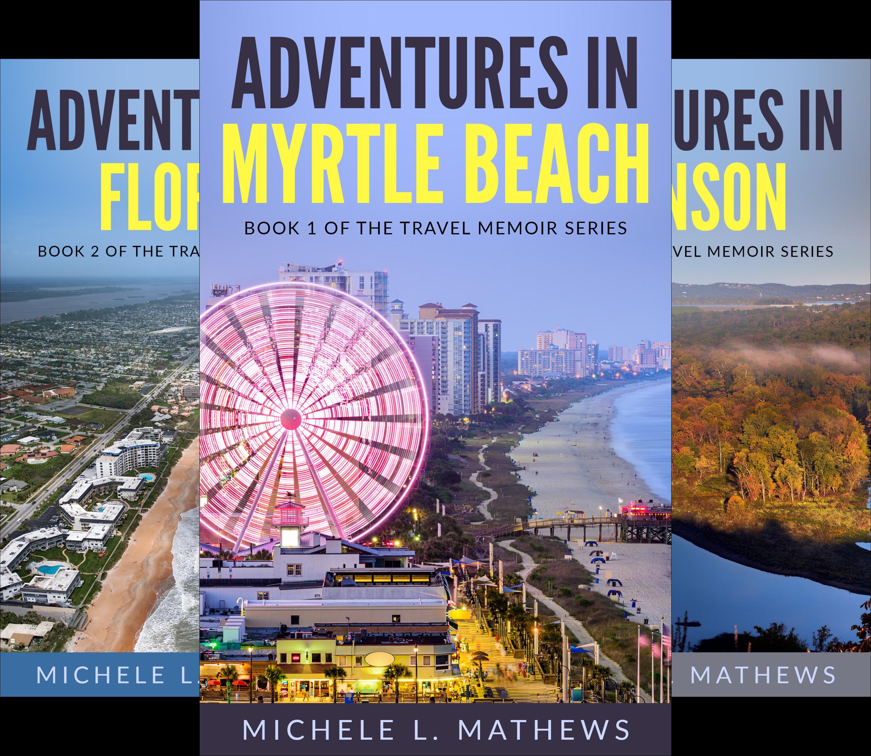 The Travel Memoir Series (3 Book Series)