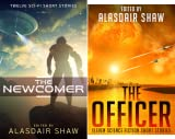 img - for Scifi Anthologies (2 Book Series) book / textbook / text book
